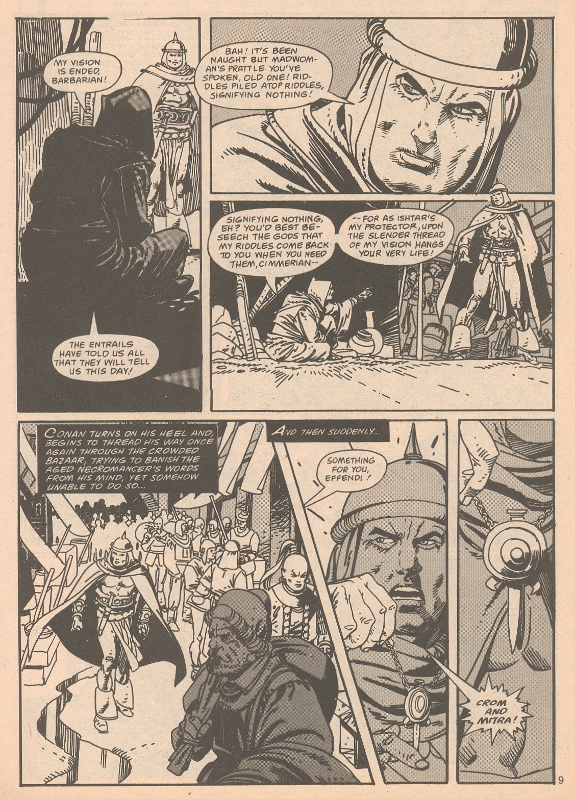 The Savage Sword Of Conan Issue #65 #66 - English 9