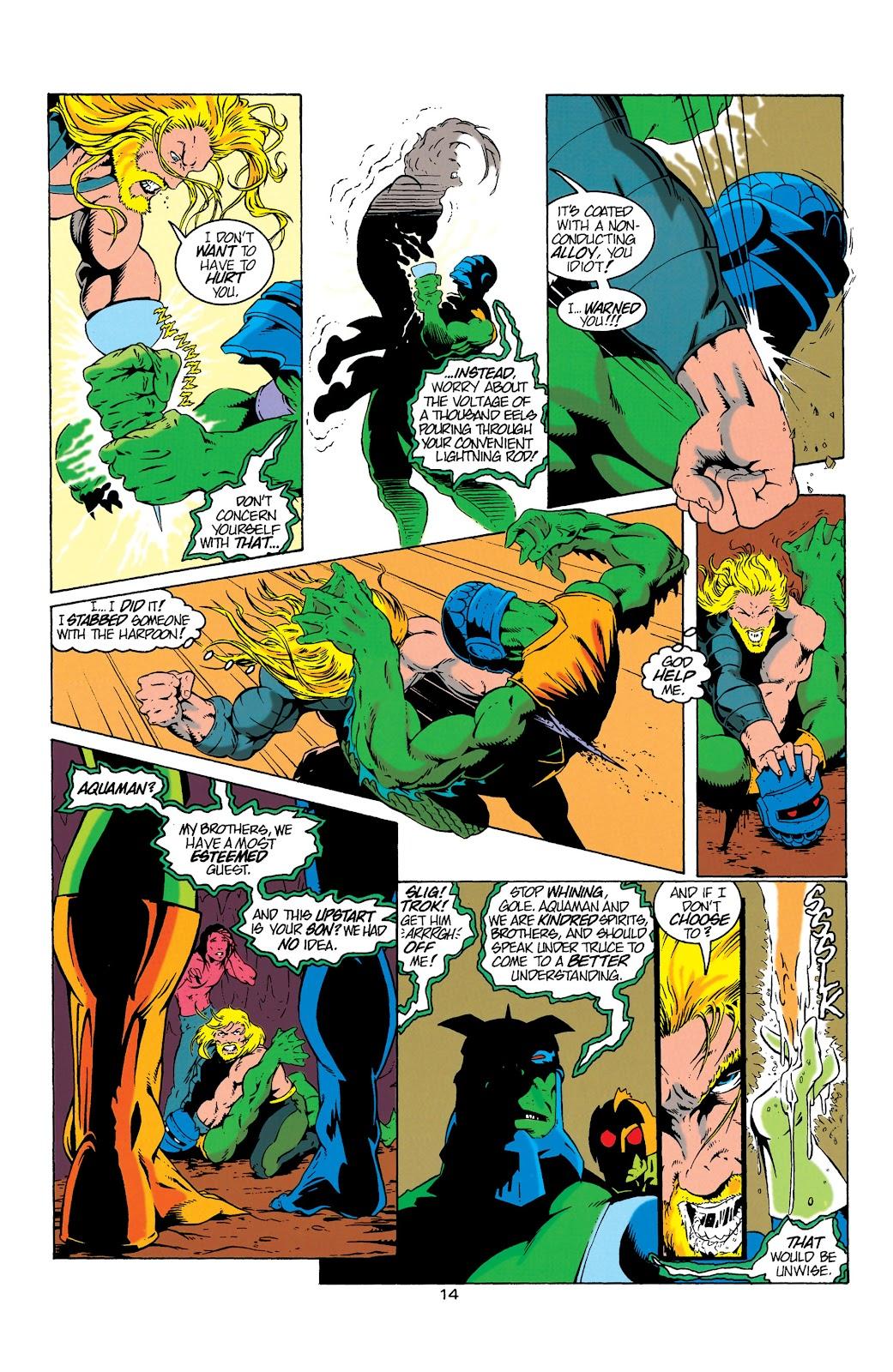 Aquaman (1994) Issue #6 #12 - English 15