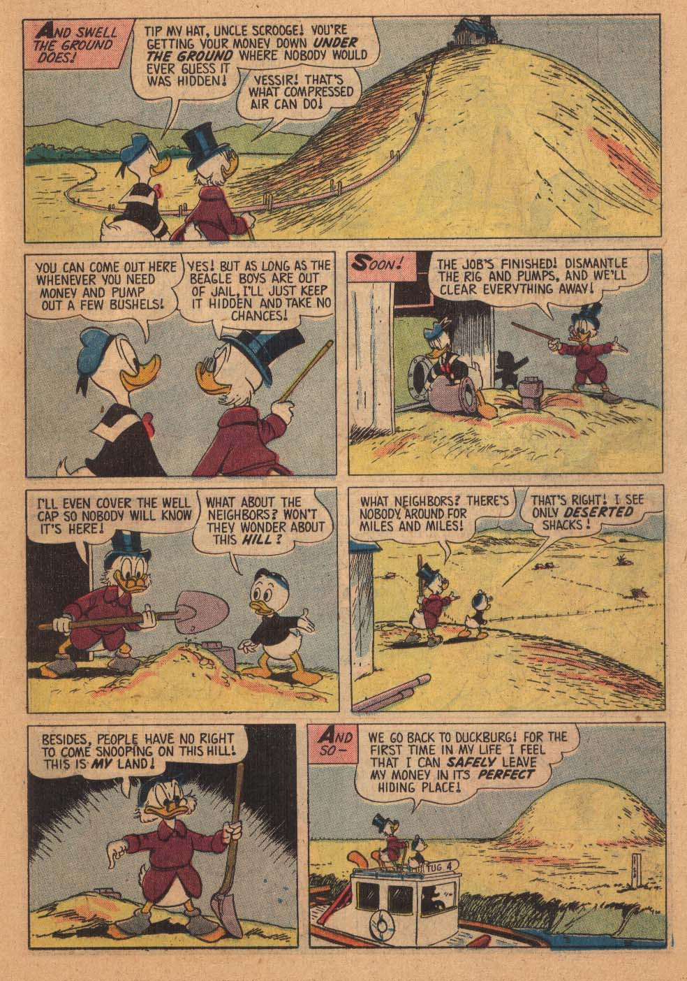 Uncle Scrooge (1953) Issue #21 #21 - English 15
