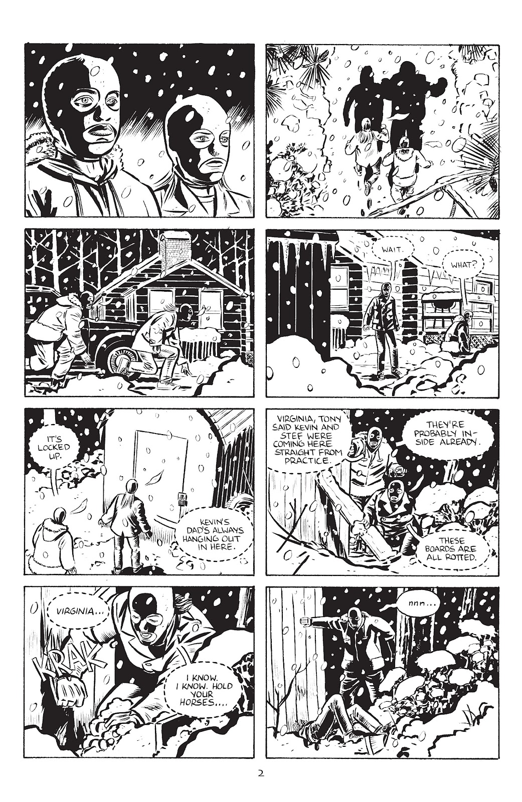 Stray Bullets Issue #38 #38 - English 4