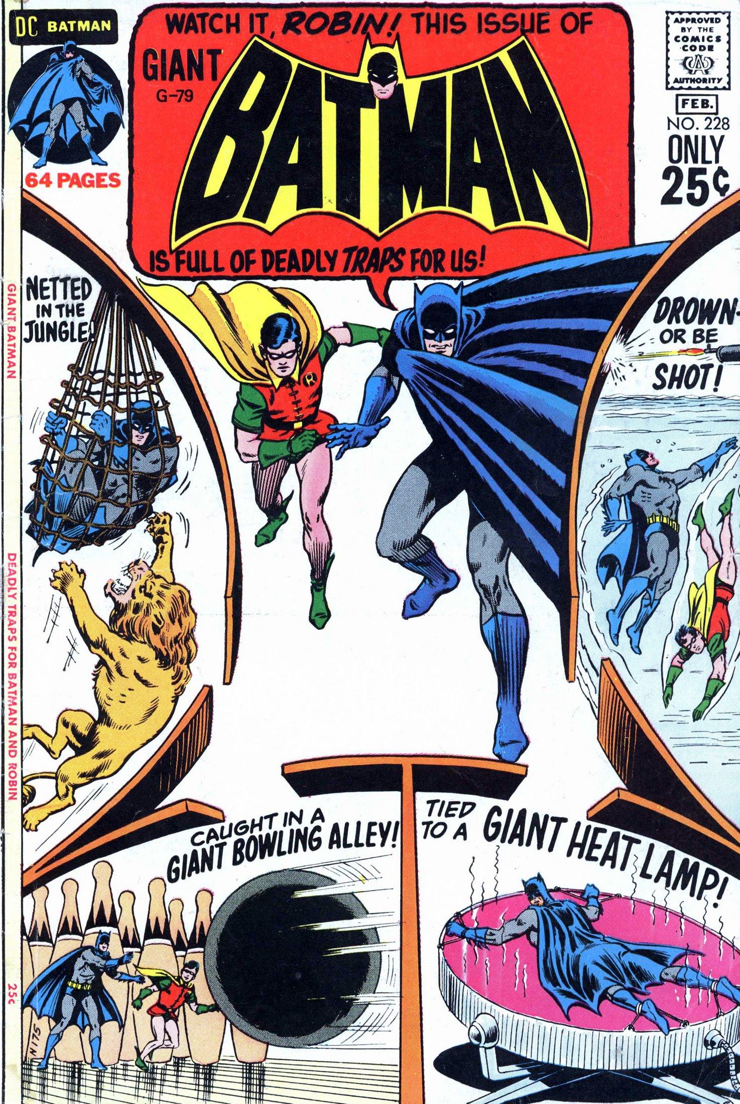 Batman (1940) 228 Page 1