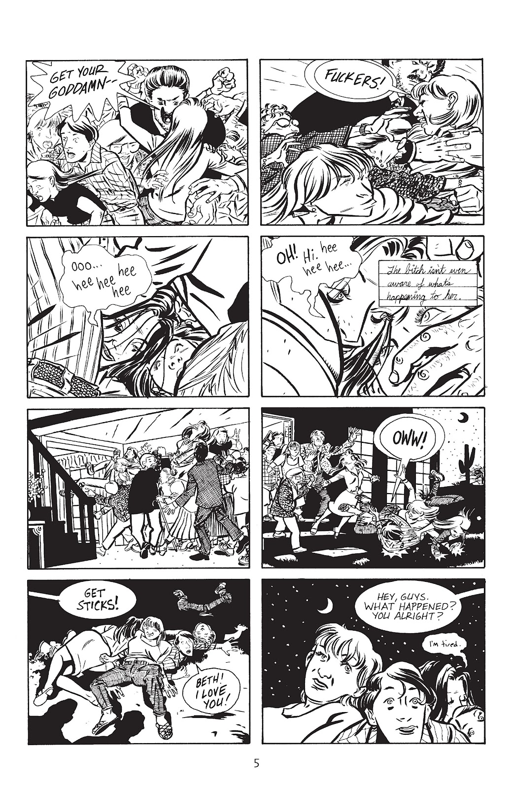 Stray Bullets Issue #13 #13 - English 7