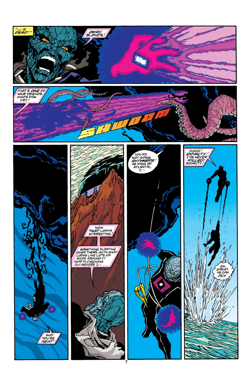 Aquaman (1994) Issue #39 #45 - English 8