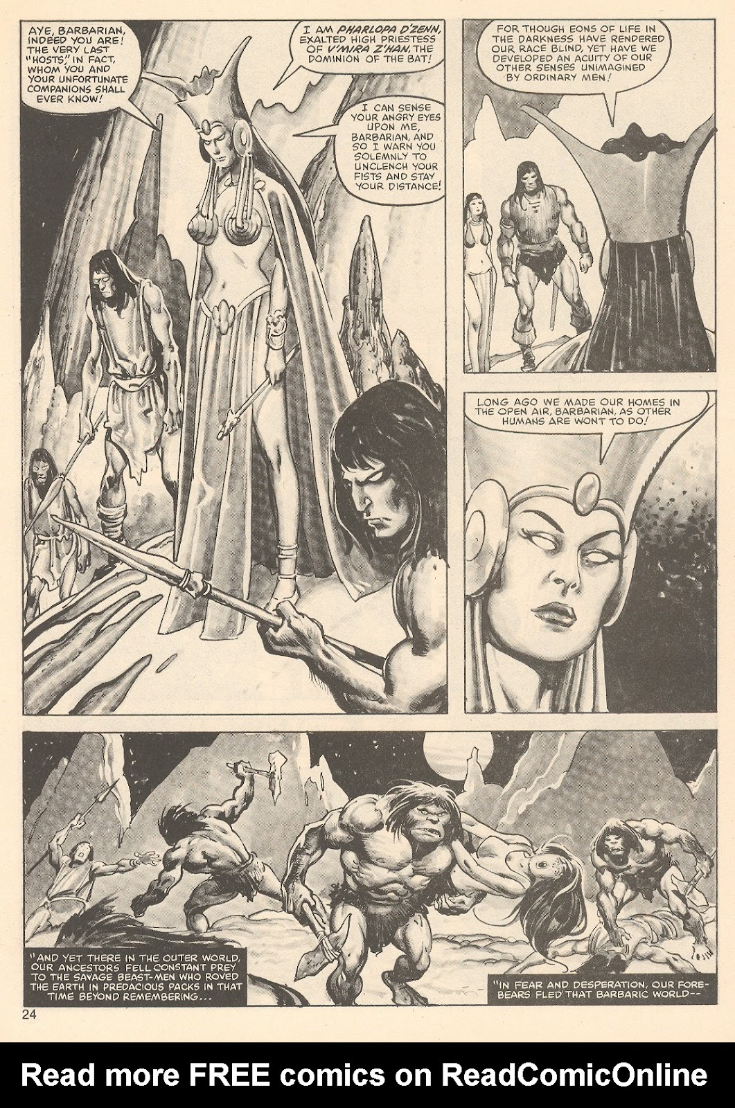 The Savage Sword Of Conan Issue #76 #77 - English 24
