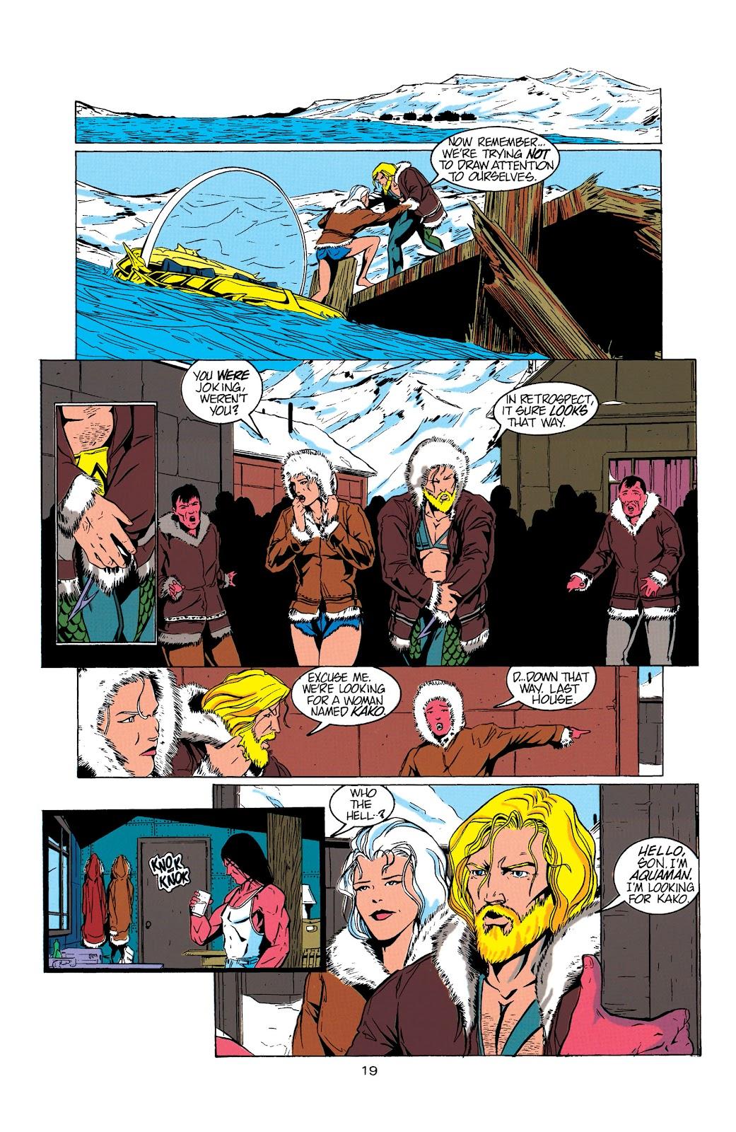 Aquaman (1994) Issue #5 #11 - English 20