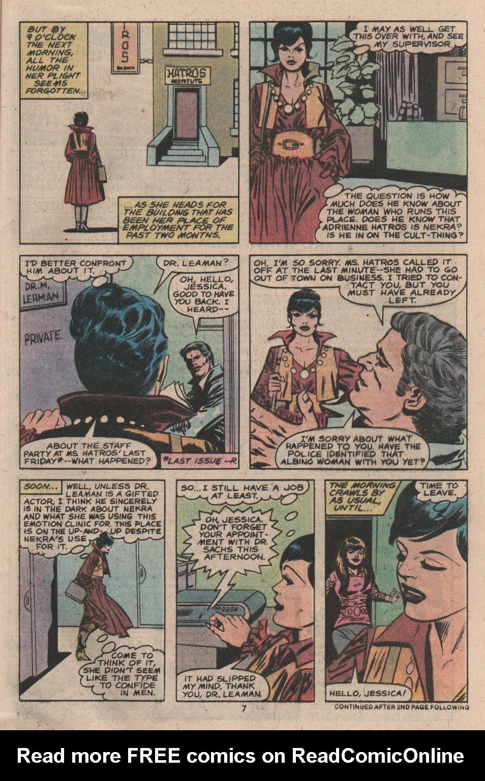 Spider-Woman (1978) #17 #34 - English 7