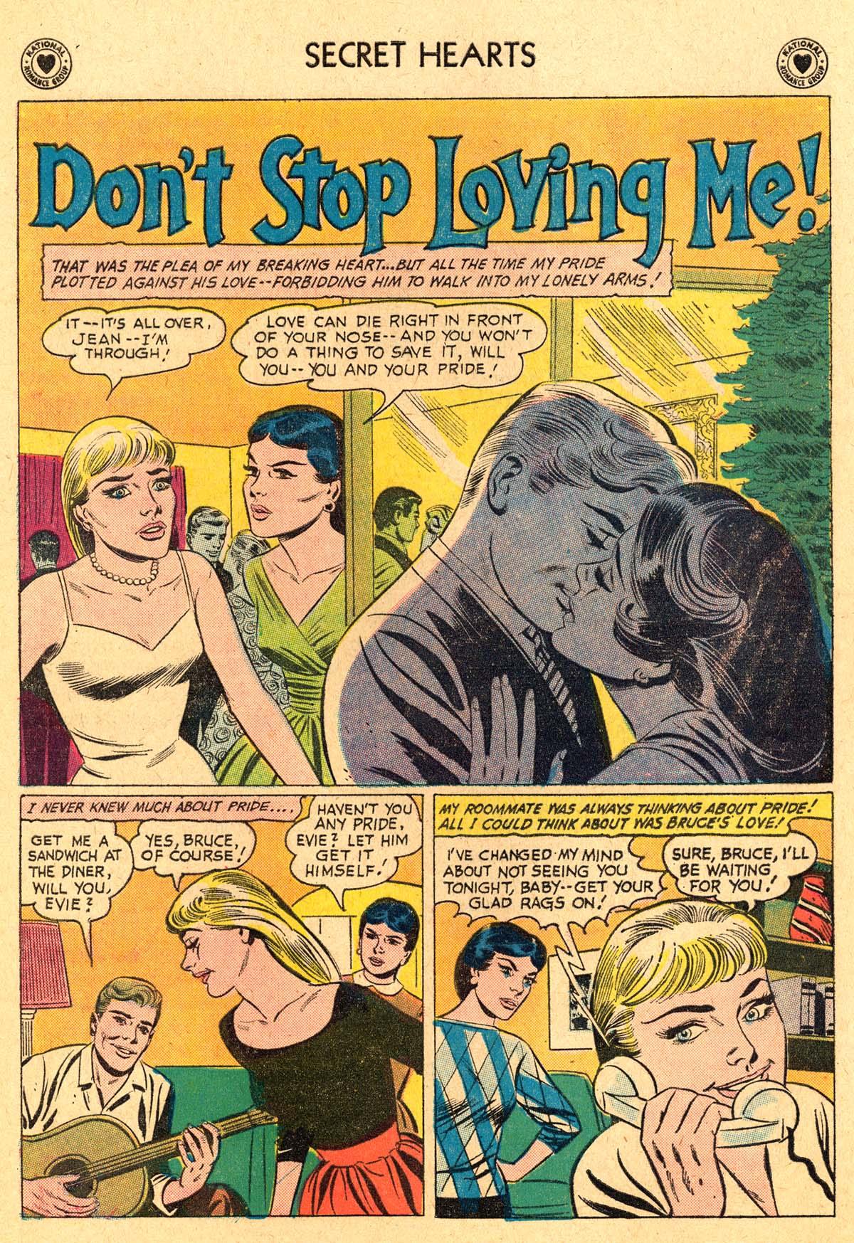 Read online Secret Hearts comic -  Issue #69 - 20