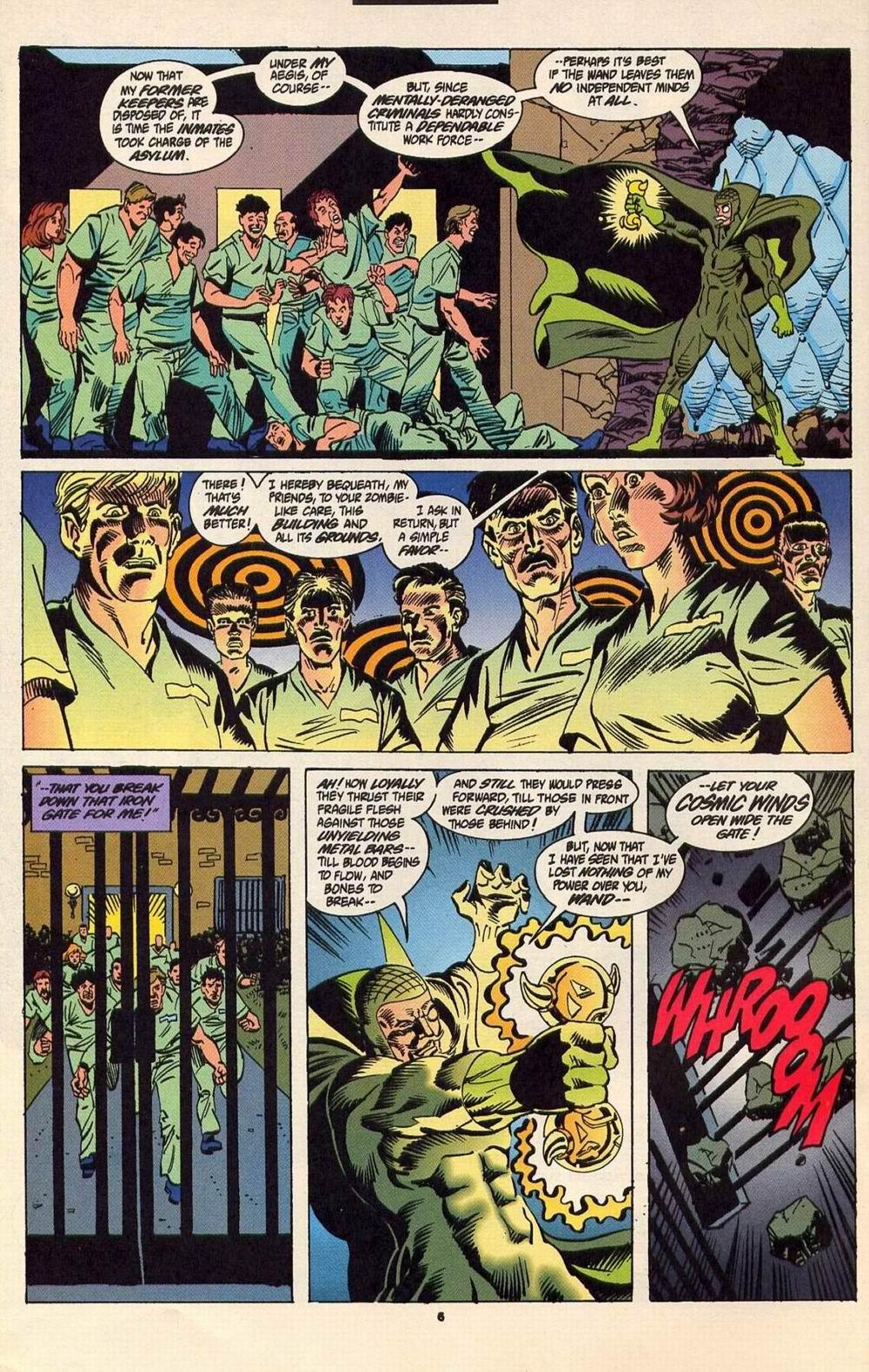 Read online Secret Defenders comic -  Issue #6 - 6