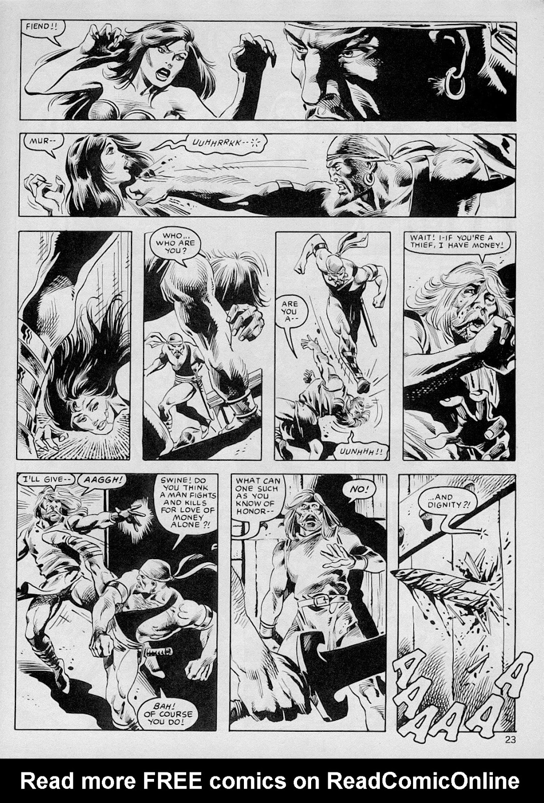 The Savage Sword Of Conan Issue #103 #104 - English 22