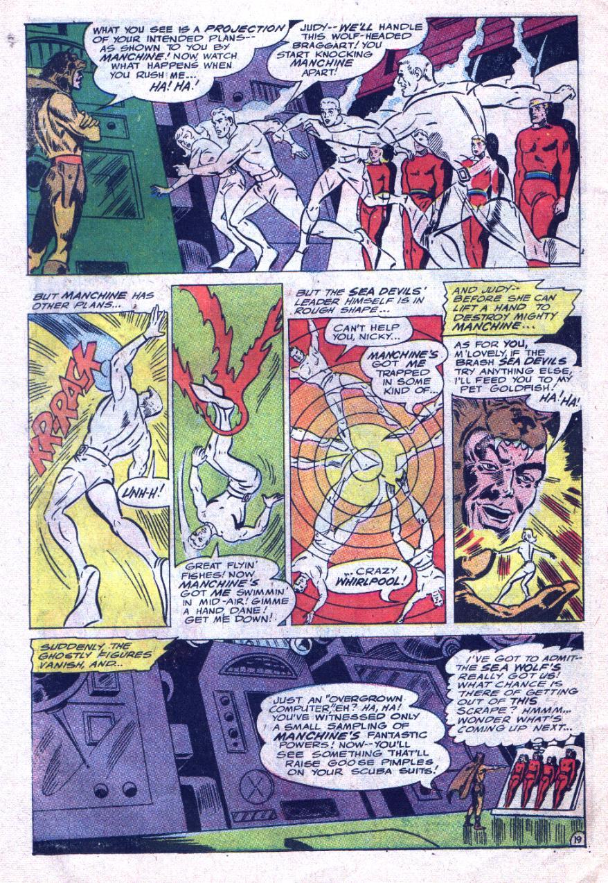 Read online Sea Devils comic -  Issue #33 - 27