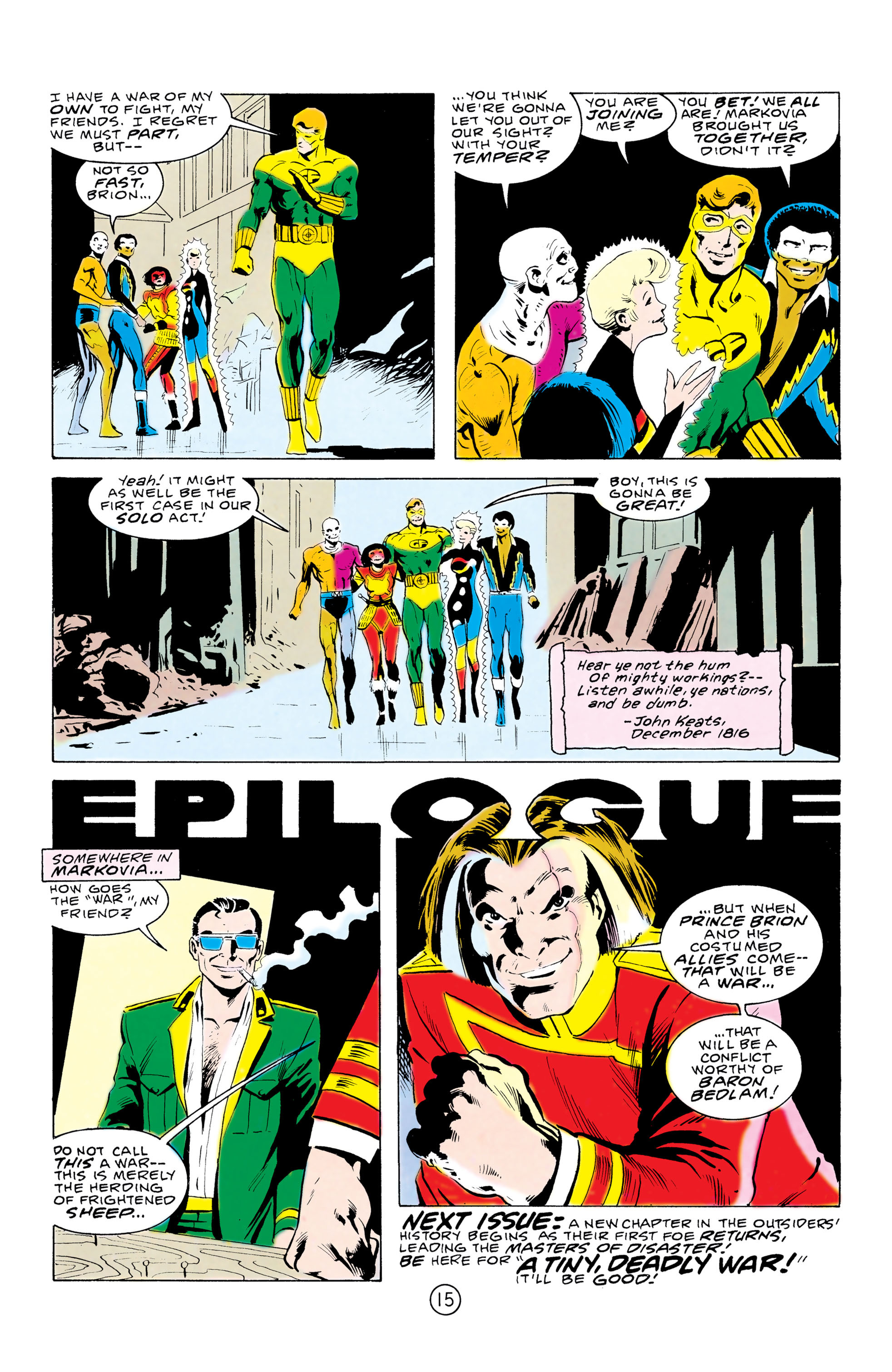 Batman and the Outsiders (1983) 32 Page 15