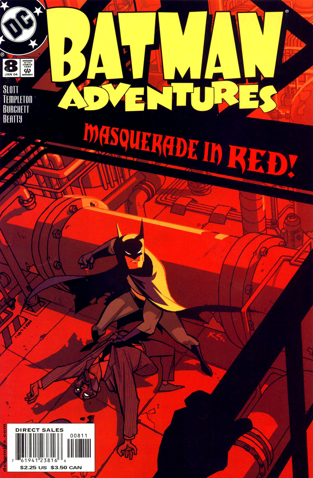 Batman Adventures (2003) 8 Page 1