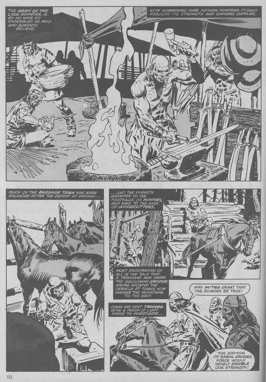 The Savage Sword Of Conan Issue #50 #51 - English 10