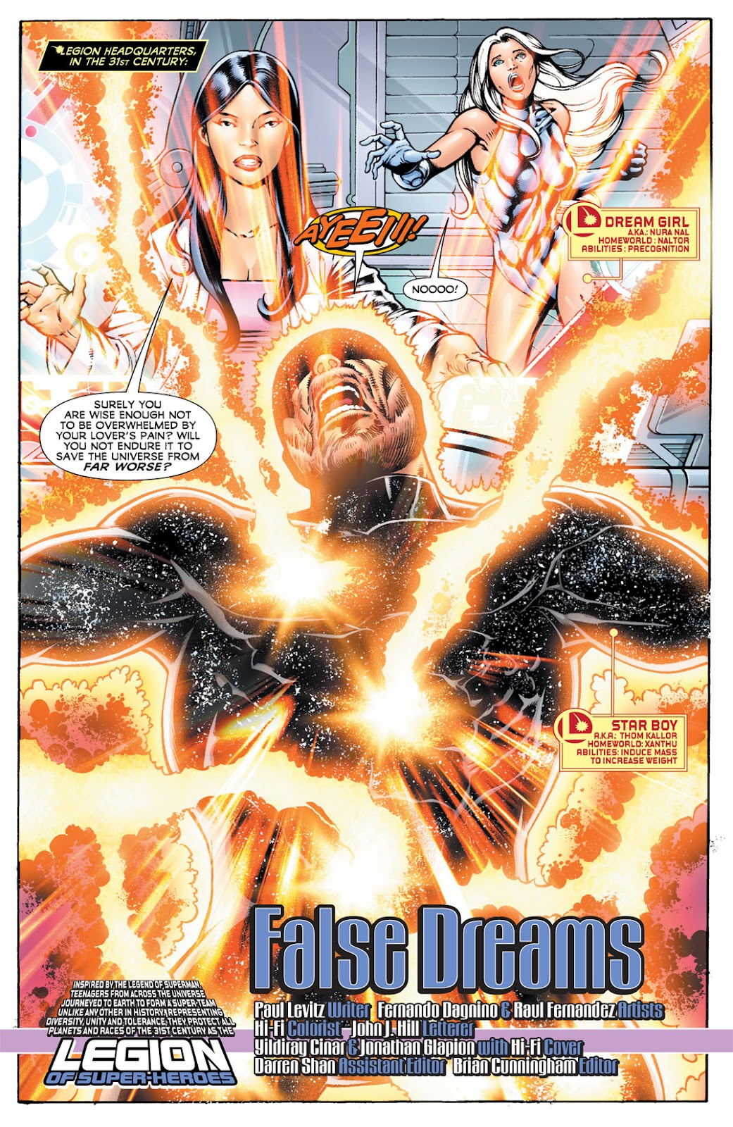 Legion of Super-Heroes (2010) Issue #14 #15 - English 2