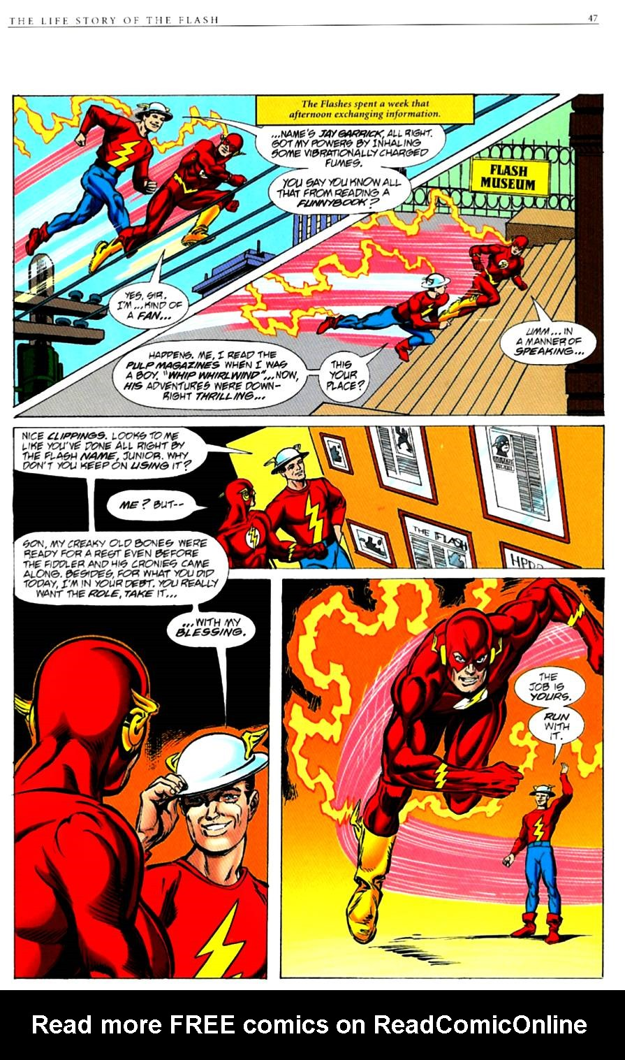Read online The Life Story of the Flash comic -  Issue # Full - 49