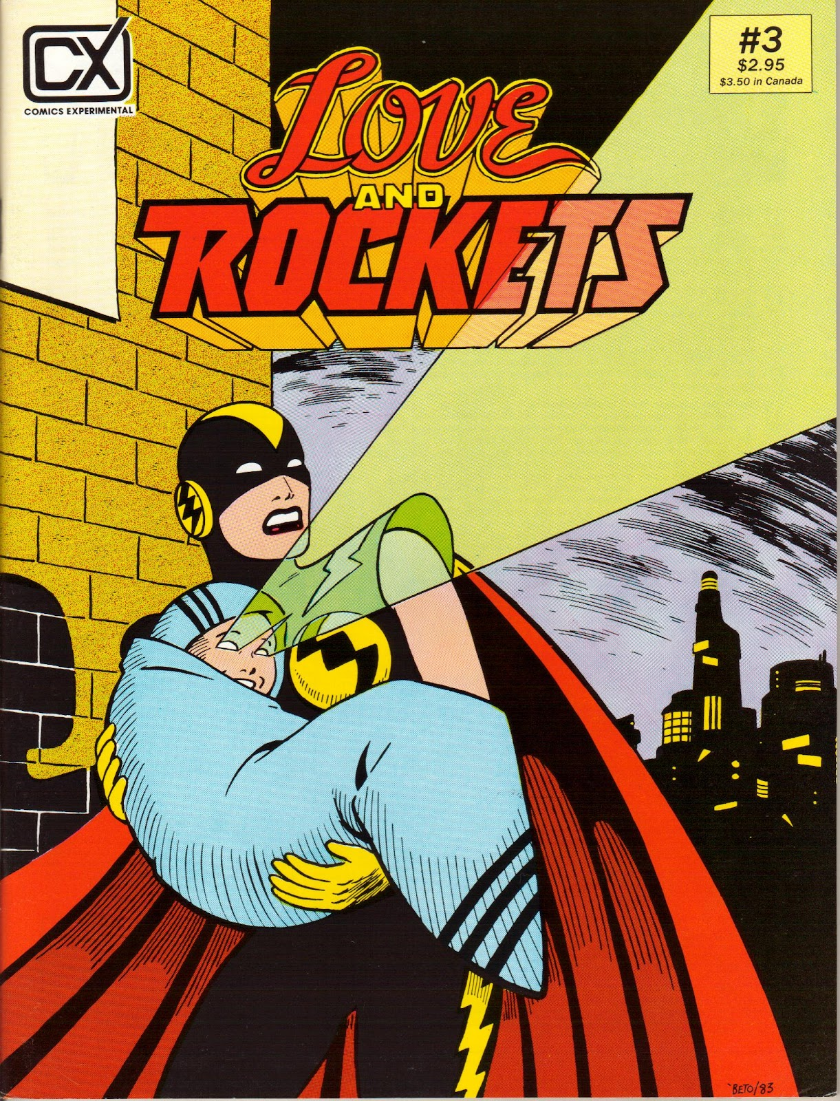 Love and Rockets (1982) Issue #3 #2 - English 1
