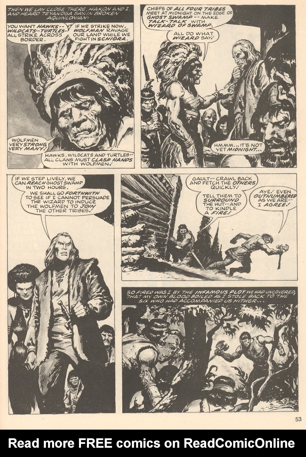 The Savage Sword Of Conan Issue #76 #77 - English 53