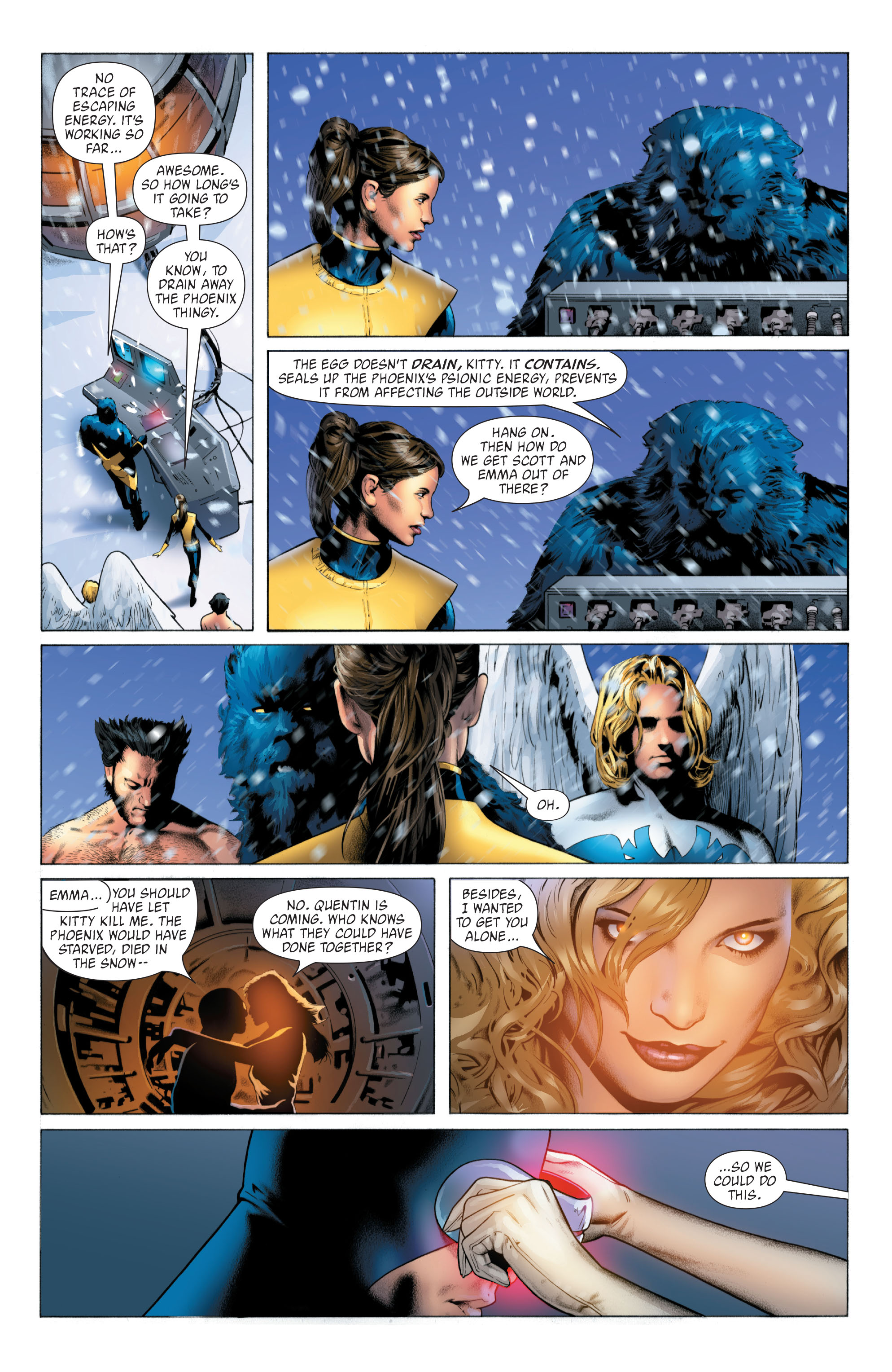 Read online X-Men: Phoenix - Endsong comic -  Issue #4 - 16