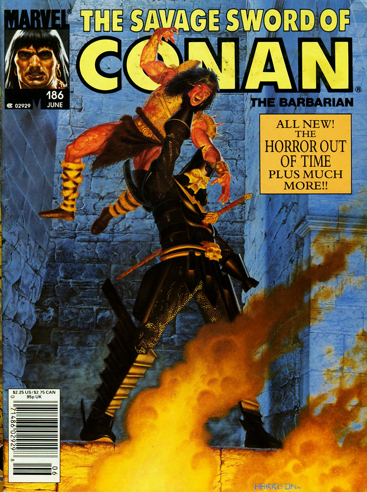 The Savage Sword Of Conan Issue #186 #187 - English 1