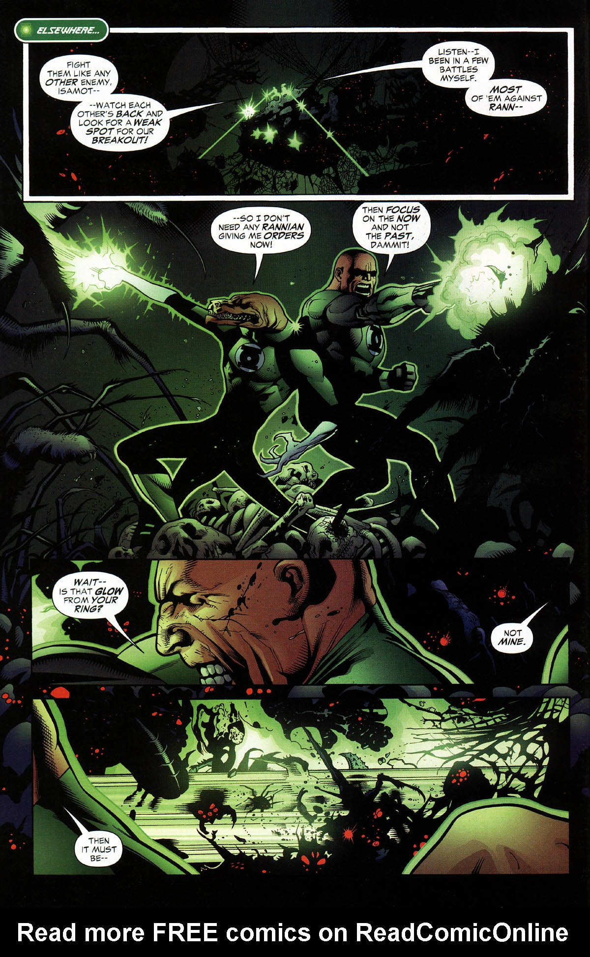Read online Green Lantern Corps: Recharge comic -  Issue #3 - 4