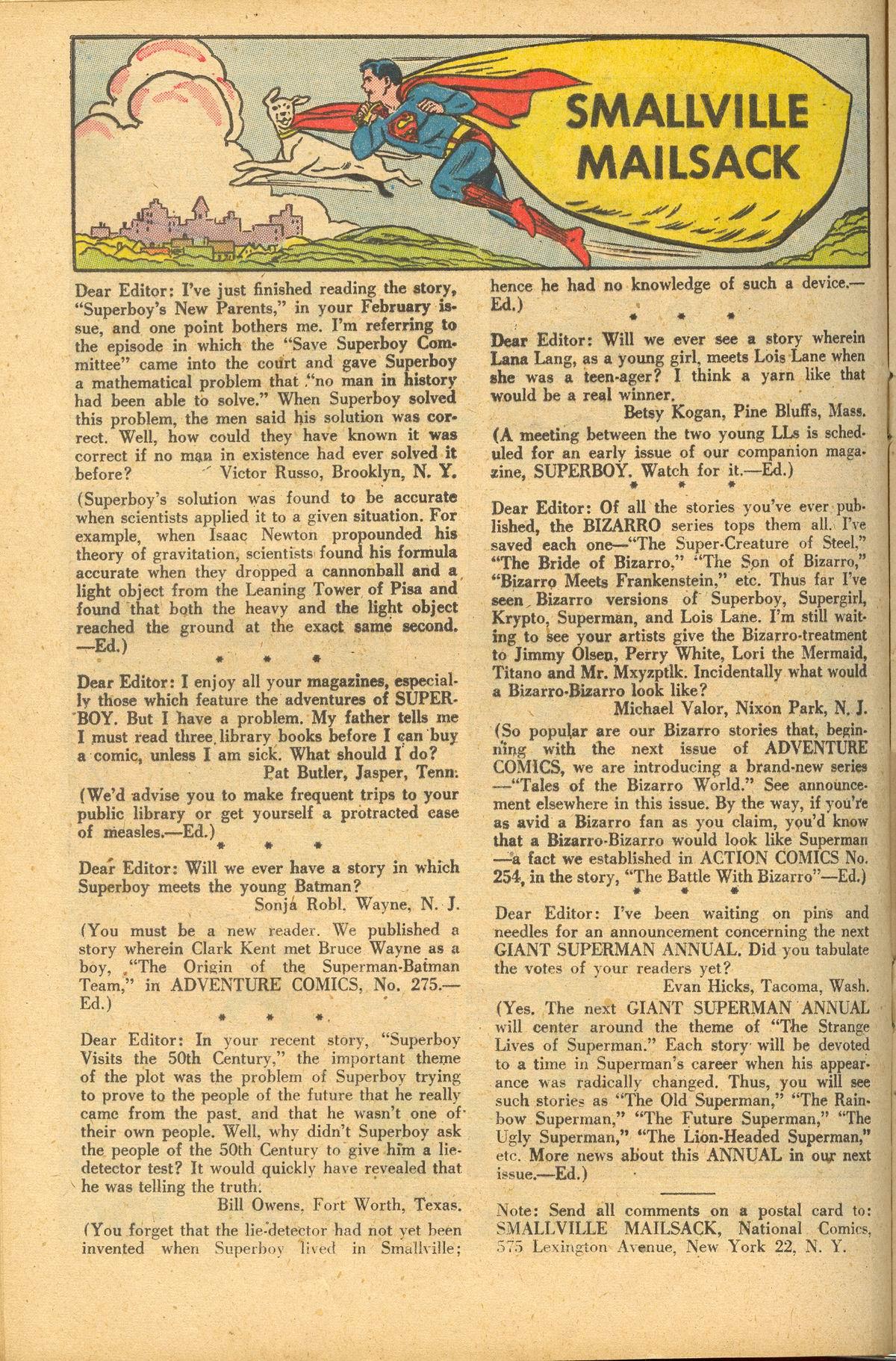 Read online Adventure Comics (1938) comic -  Issue #284 - 16