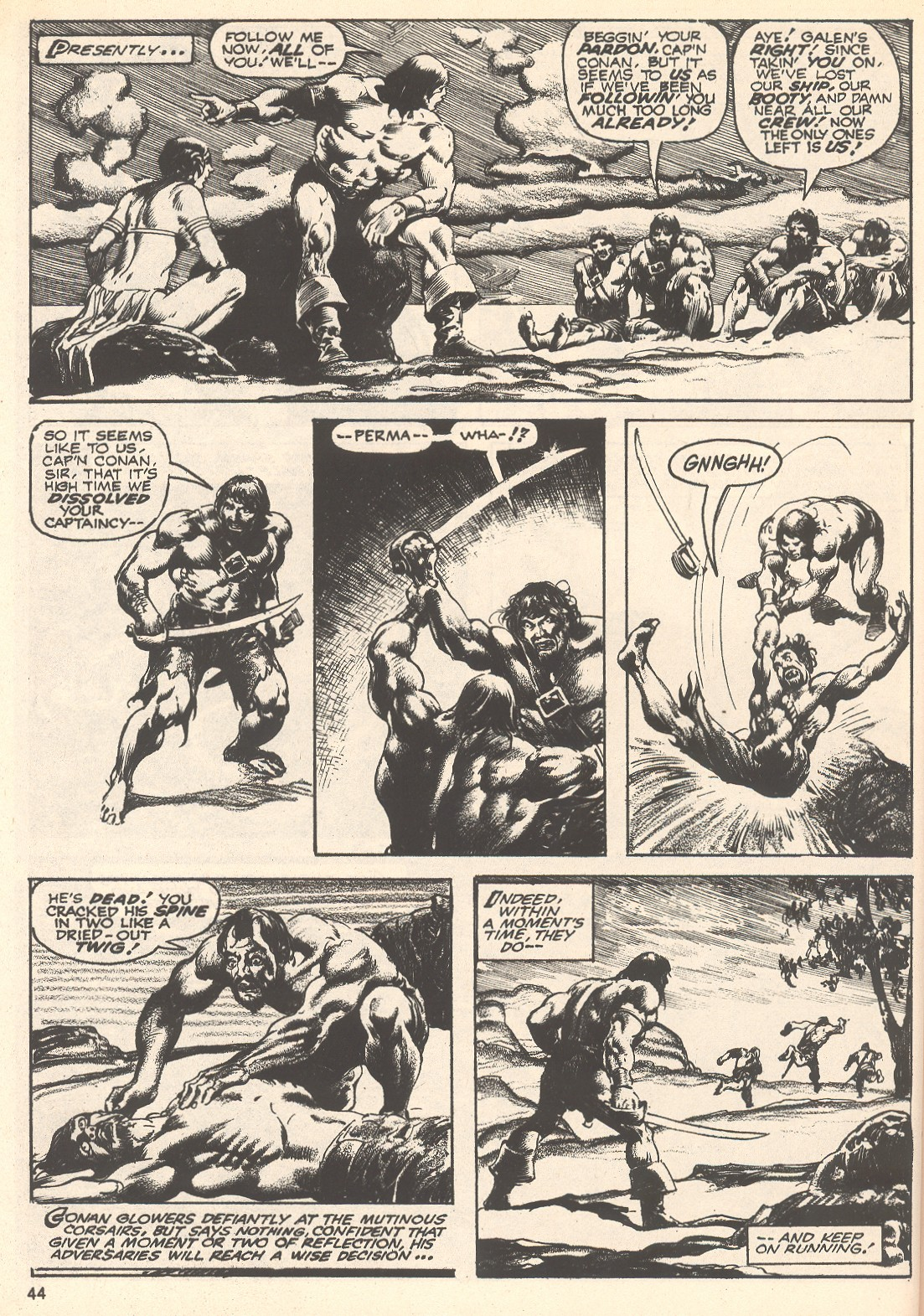 The Savage Sword Of Conan Issue #75 #76 - English 44