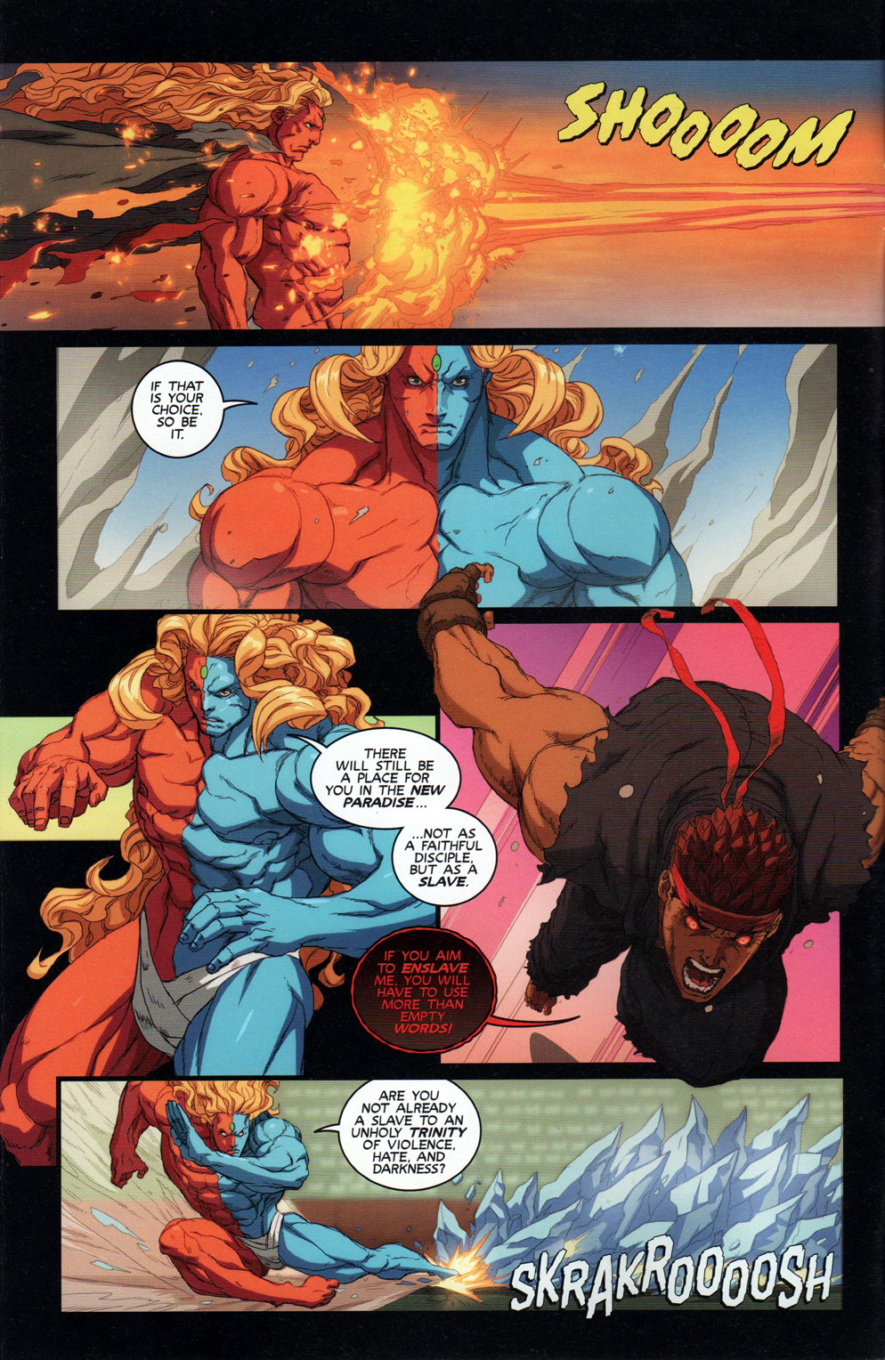 Street Fighter Unlimited Issue #10 #12 - English 6