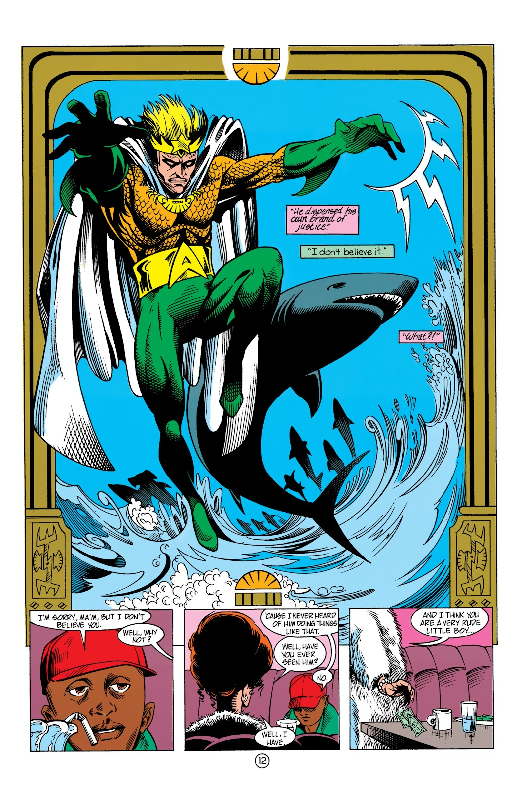 Aquaman (1991) Issue #13 #13 - English 13