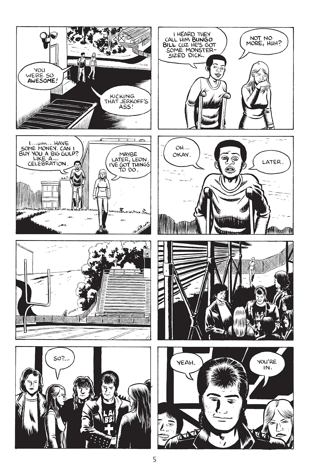 Stray Bullets Issue #33 #33 - English 7