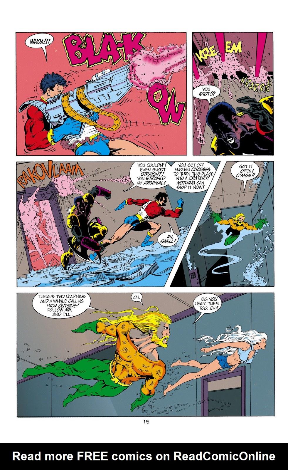 Aquaman (1994) Issue #2 #8 - English 16