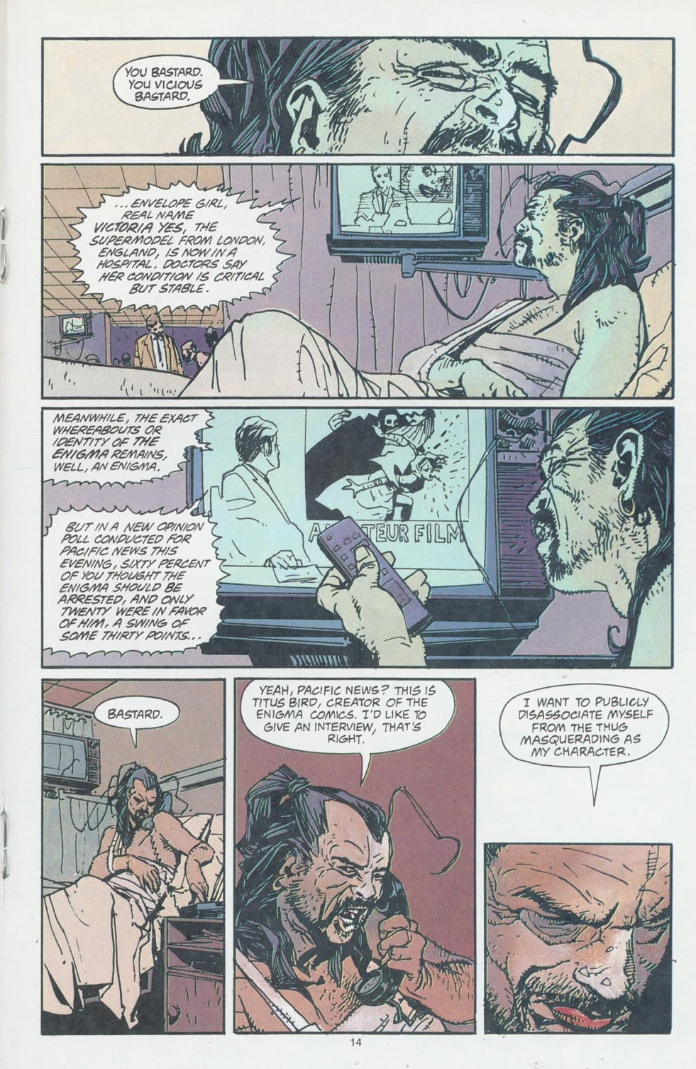 Read online Enigma comic -  Issue #6 - 16