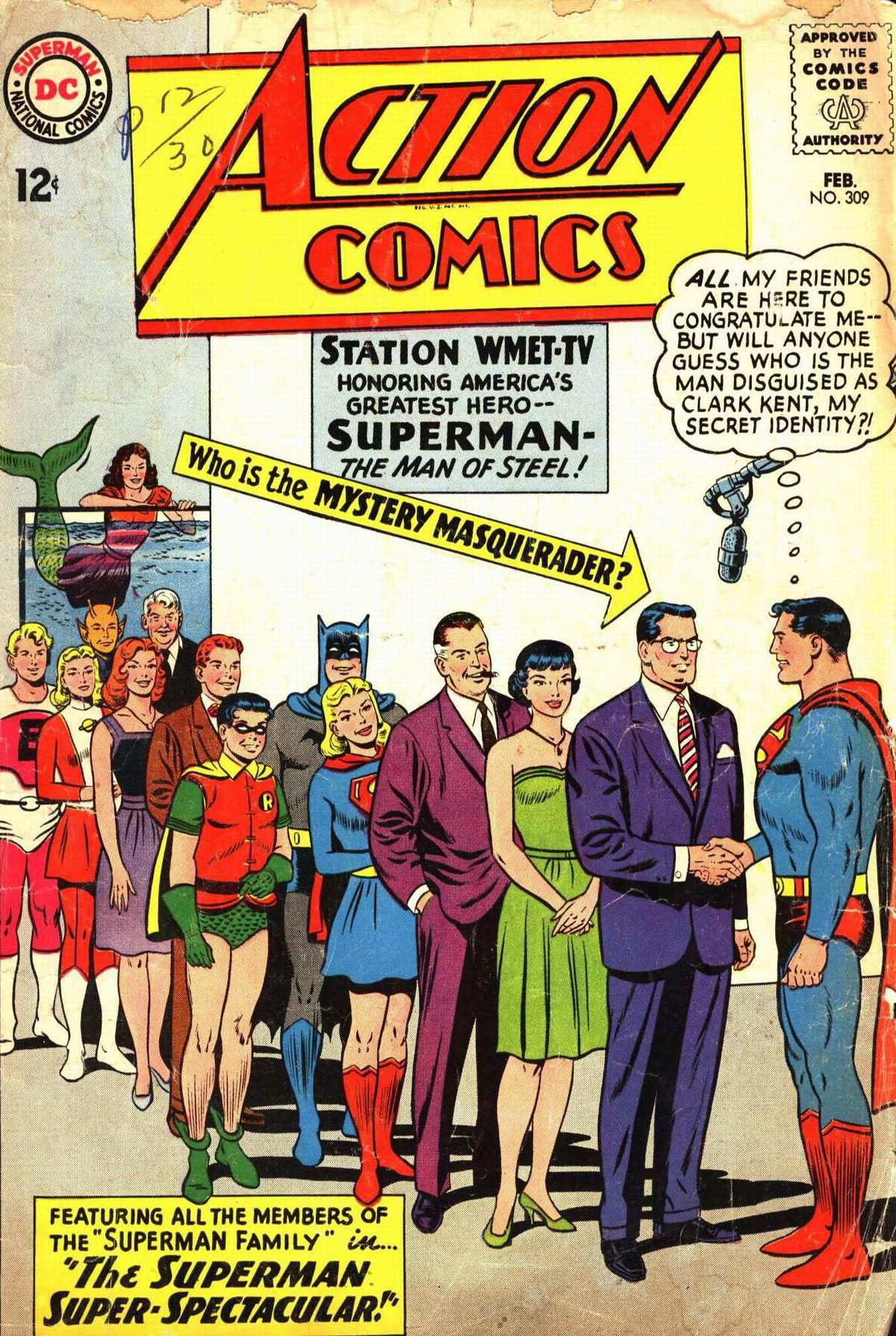 Action Comics (1938) 309 Page 1