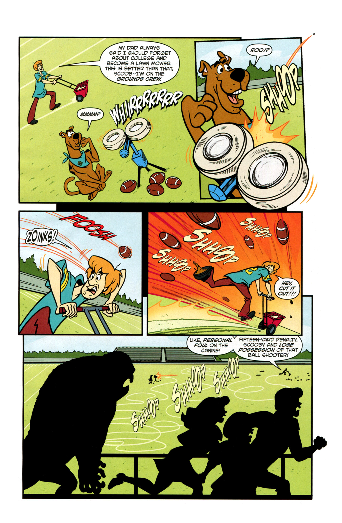 Read online Scooby-Doo: Where Are You? comic -  Issue #21 - 13