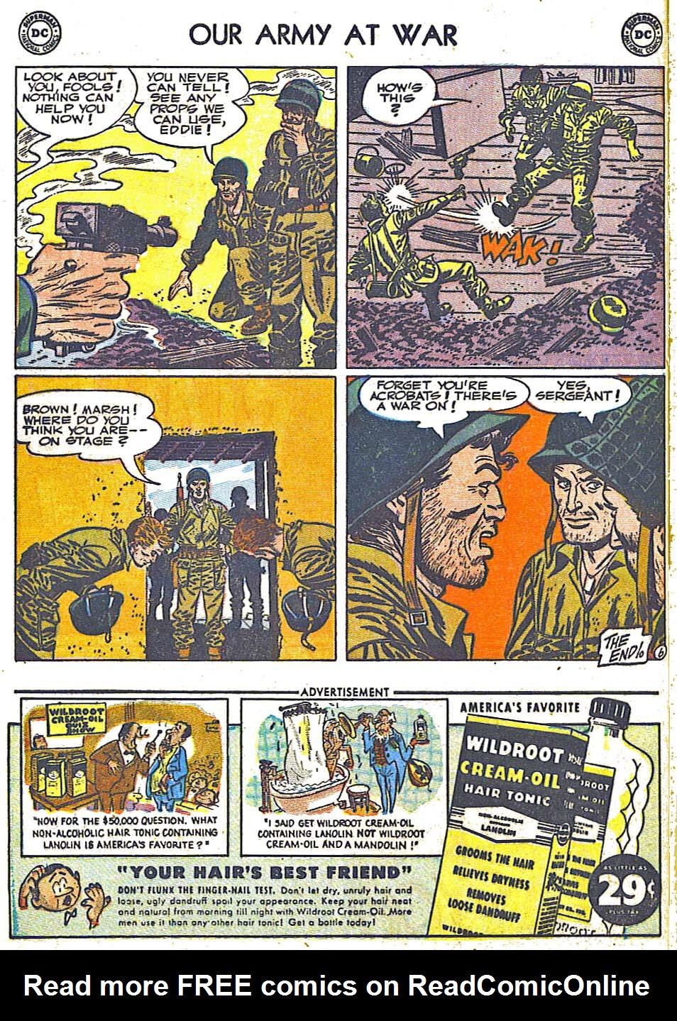 at War (1952) Issue #248 #301 - English 8