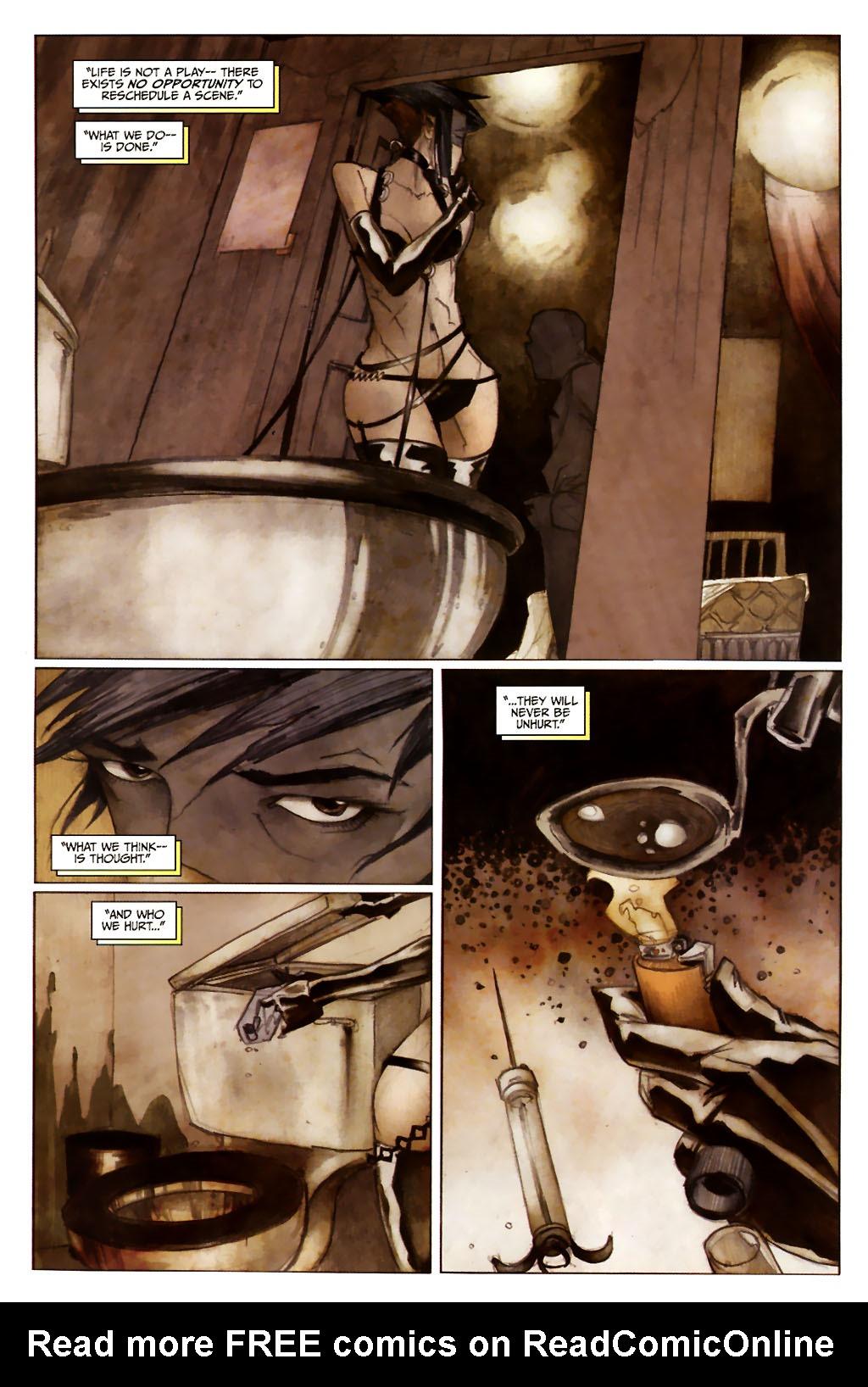 Girl 13 Page 6 #6 - English 18
