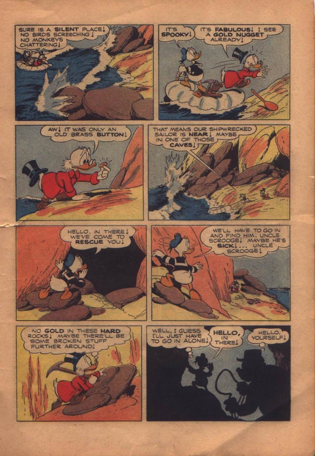 Uncle Scrooge (1953) Issue #8 #8 - English 11