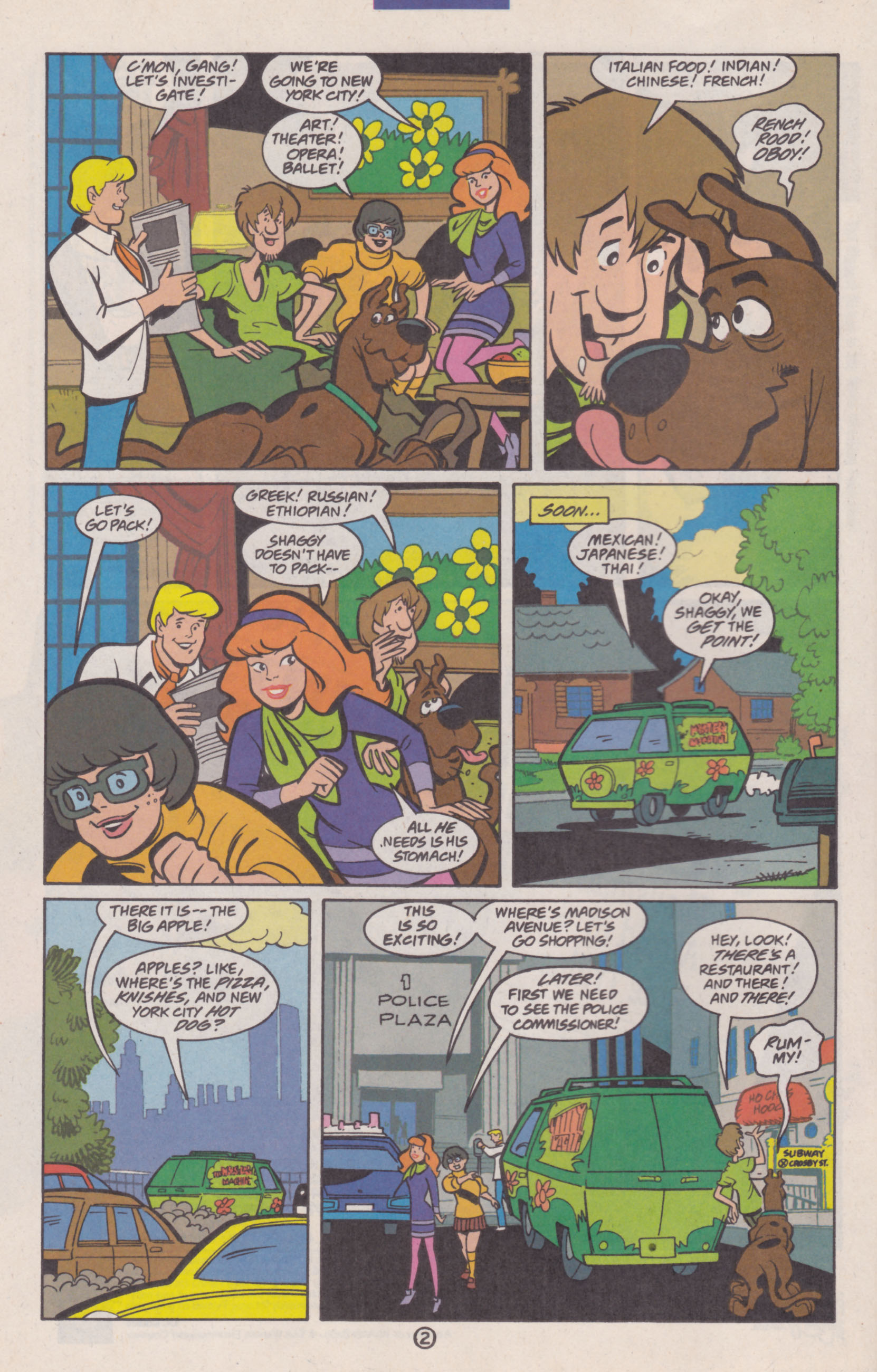 Read online Scooby-Doo (1997) comic -  Issue #14 - 3