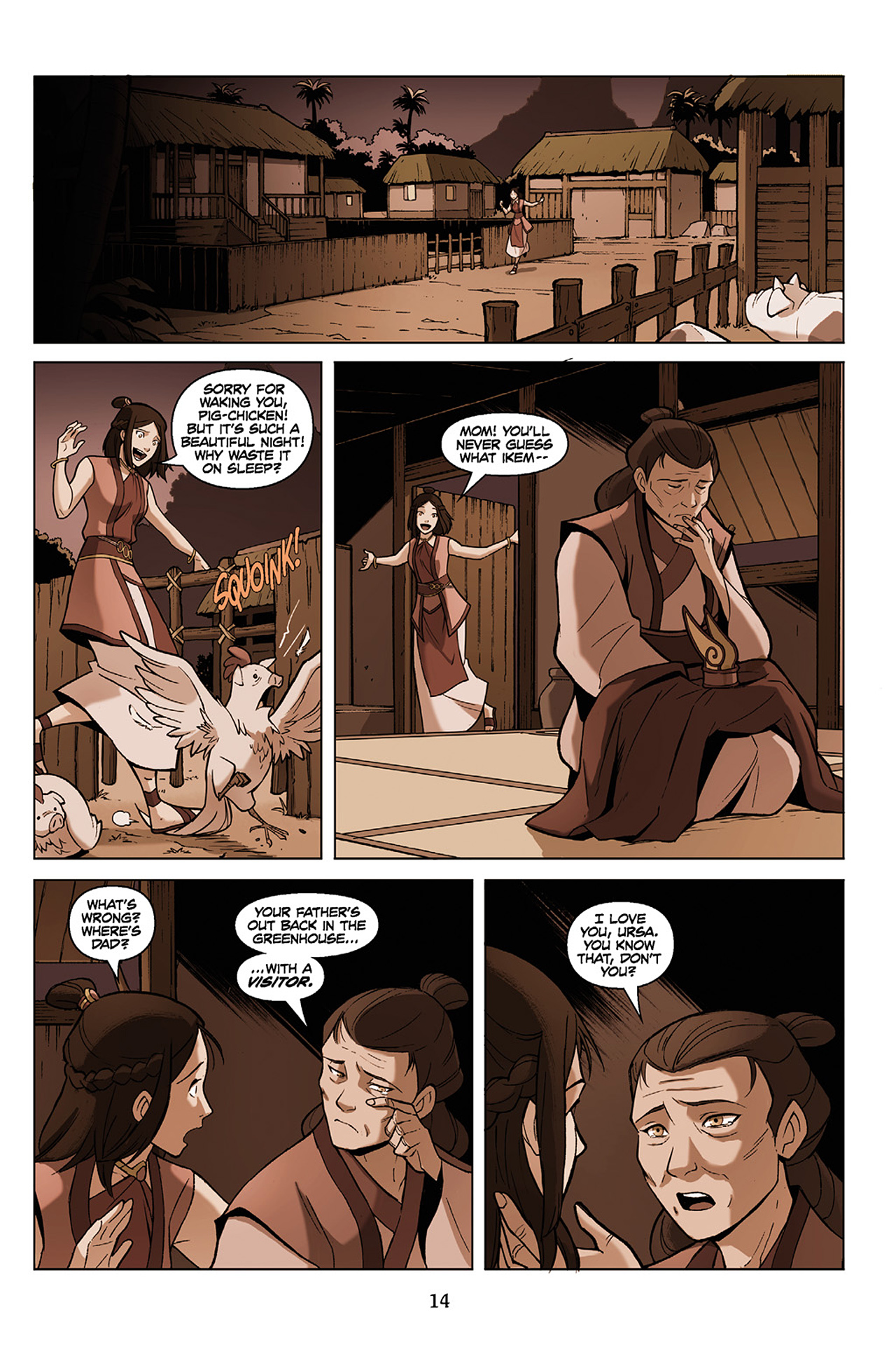 Read online Nickelodeon Avatar: The Last Airbender - The Search comic -  Issue # Part 1 - 15