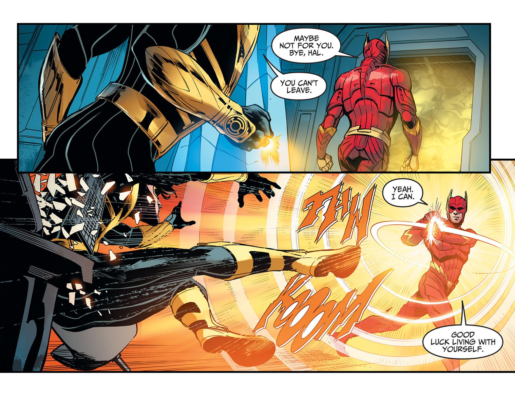 Read online Injustice: Ground Zero comic -  Issue #21 - 7