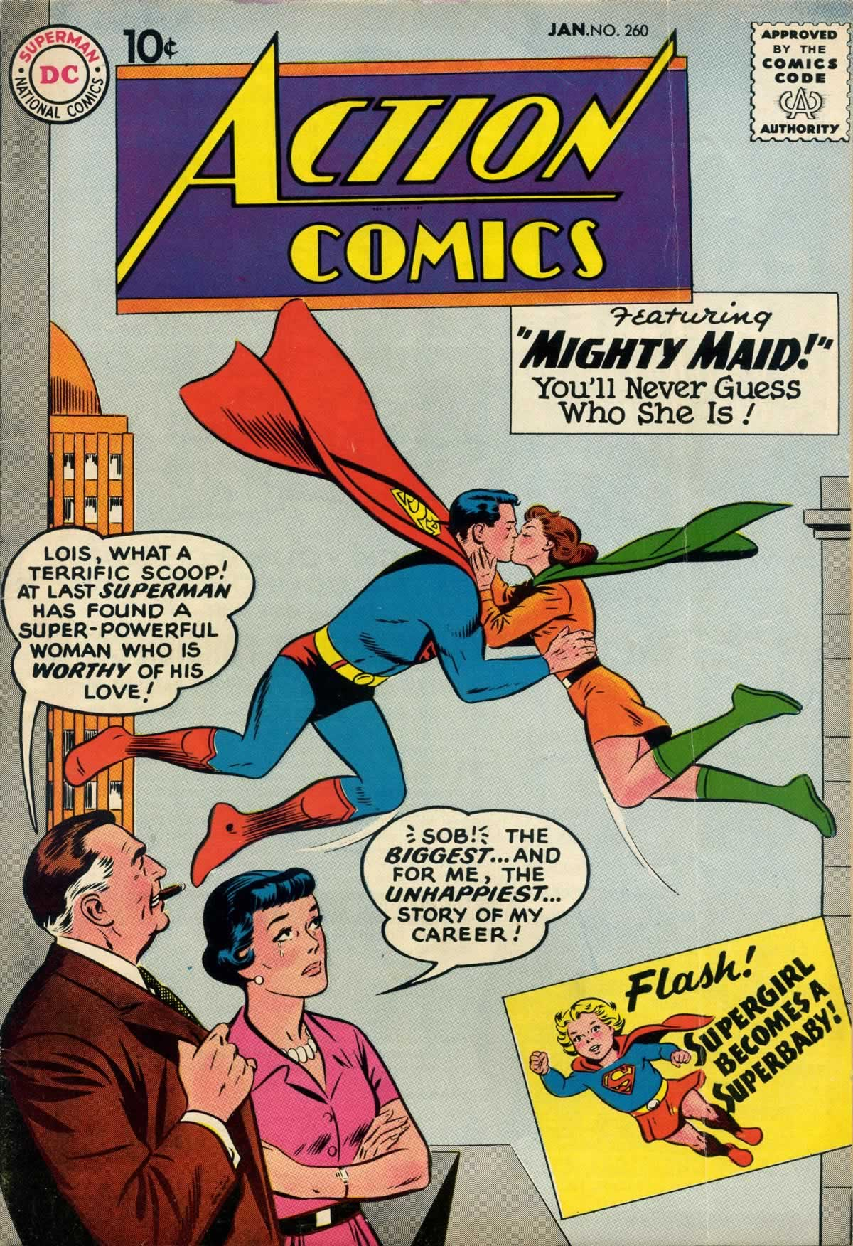 Action Comics (1938) 260 Page 1