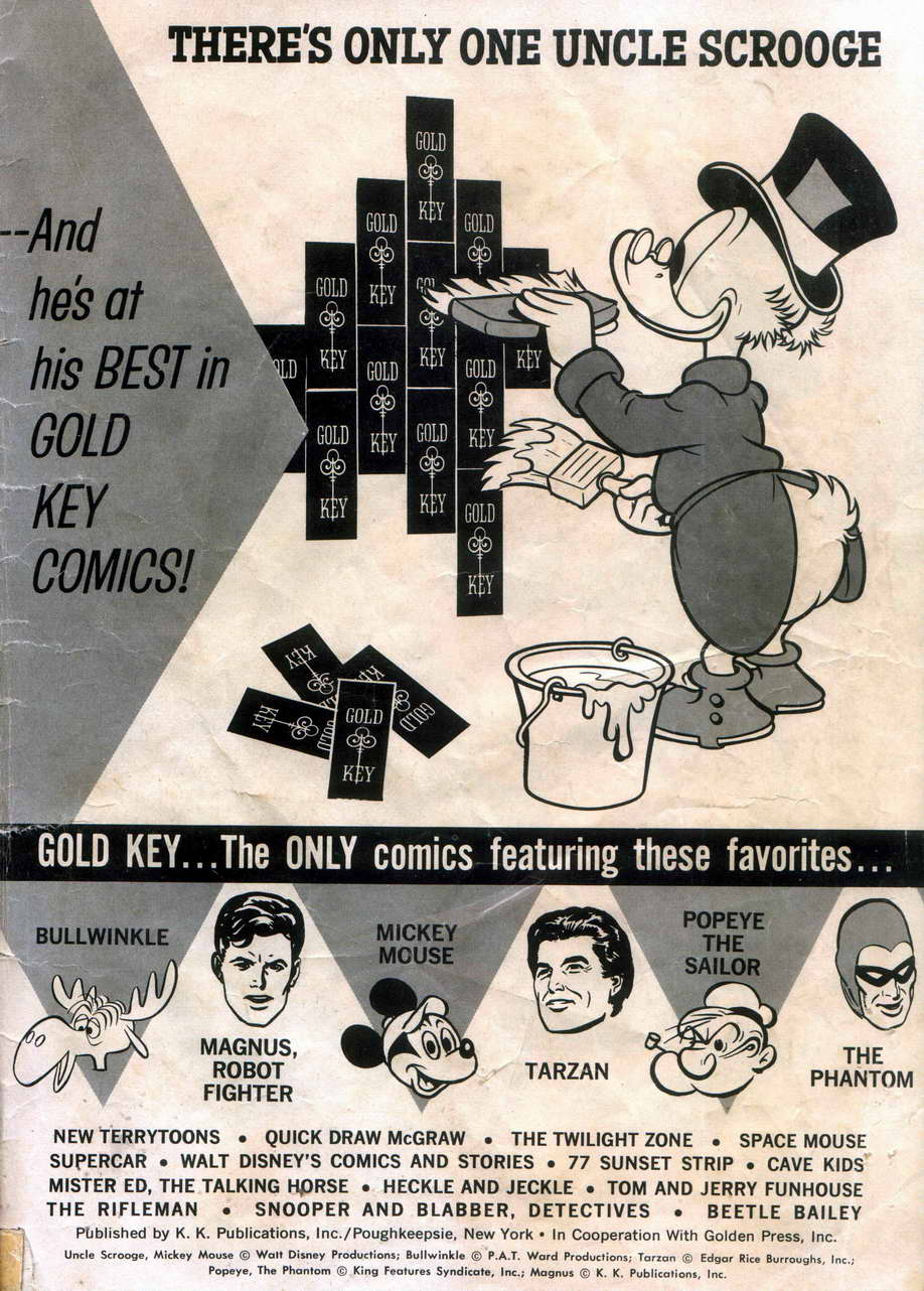 Uncle Scrooge (1953) Issue #42 #42 - English 35