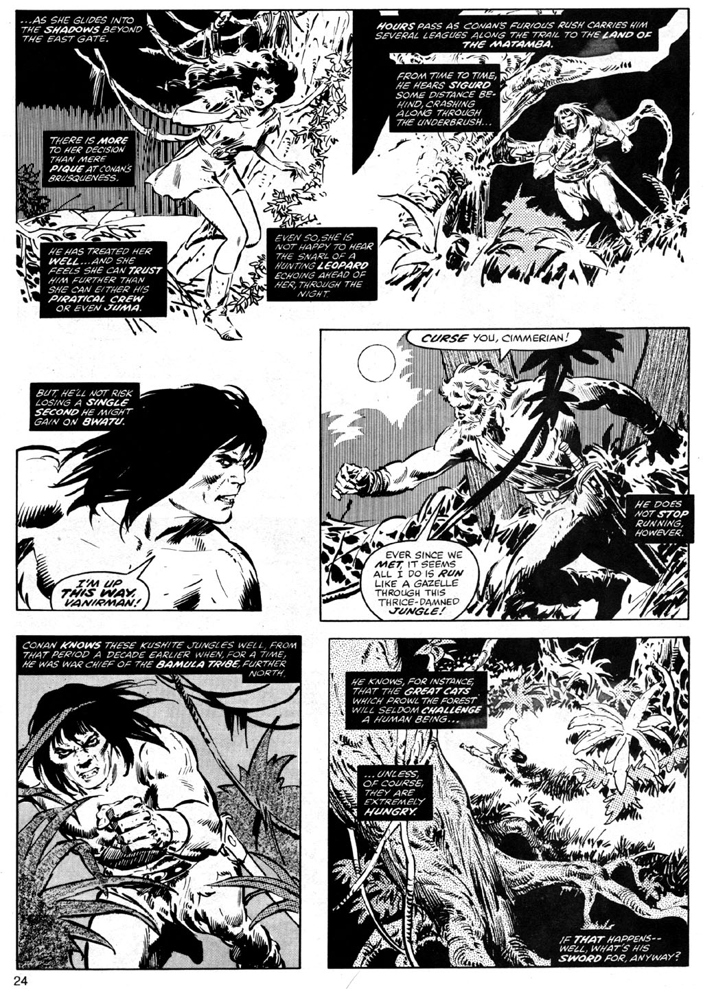 The Savage Sword Of Conan Issue #41 #42 - English 24