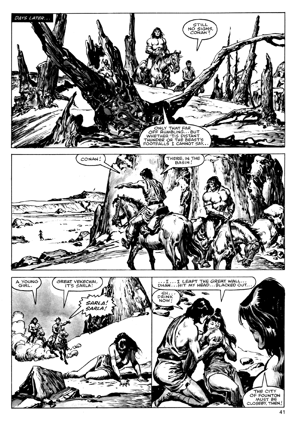 The Savage Sword Of Conan Issue #72 #73 - English 41