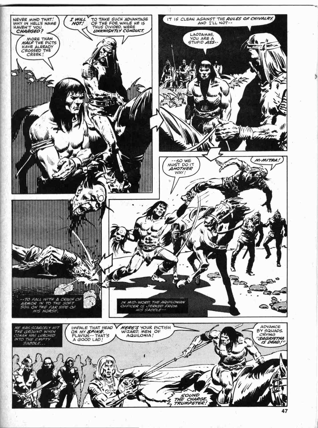 The Savage Sword Of Conan Issue #46 #47 - English 46