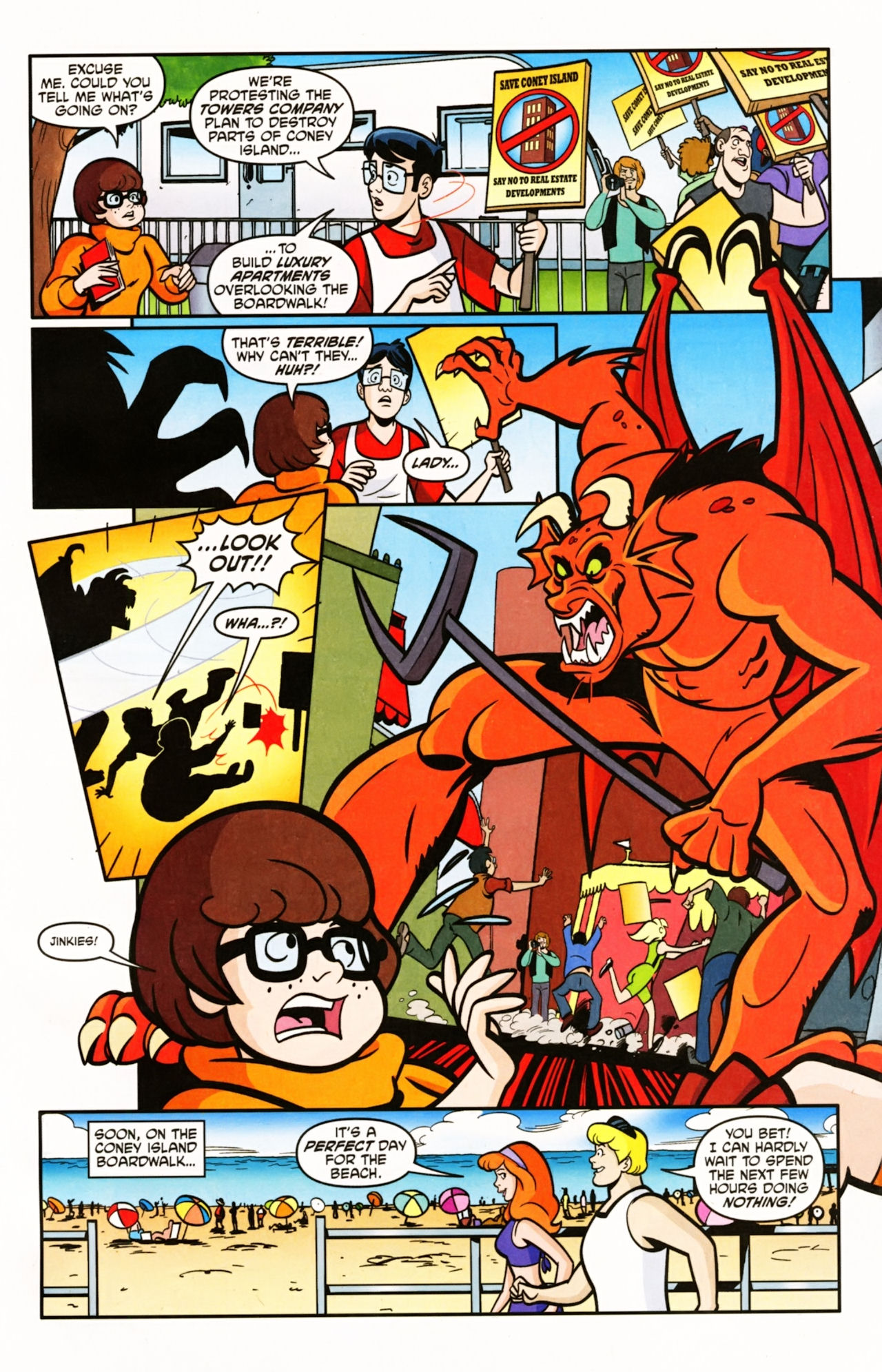 Read online Scooby-Doo (1997) comic -  Issue #155 - 4