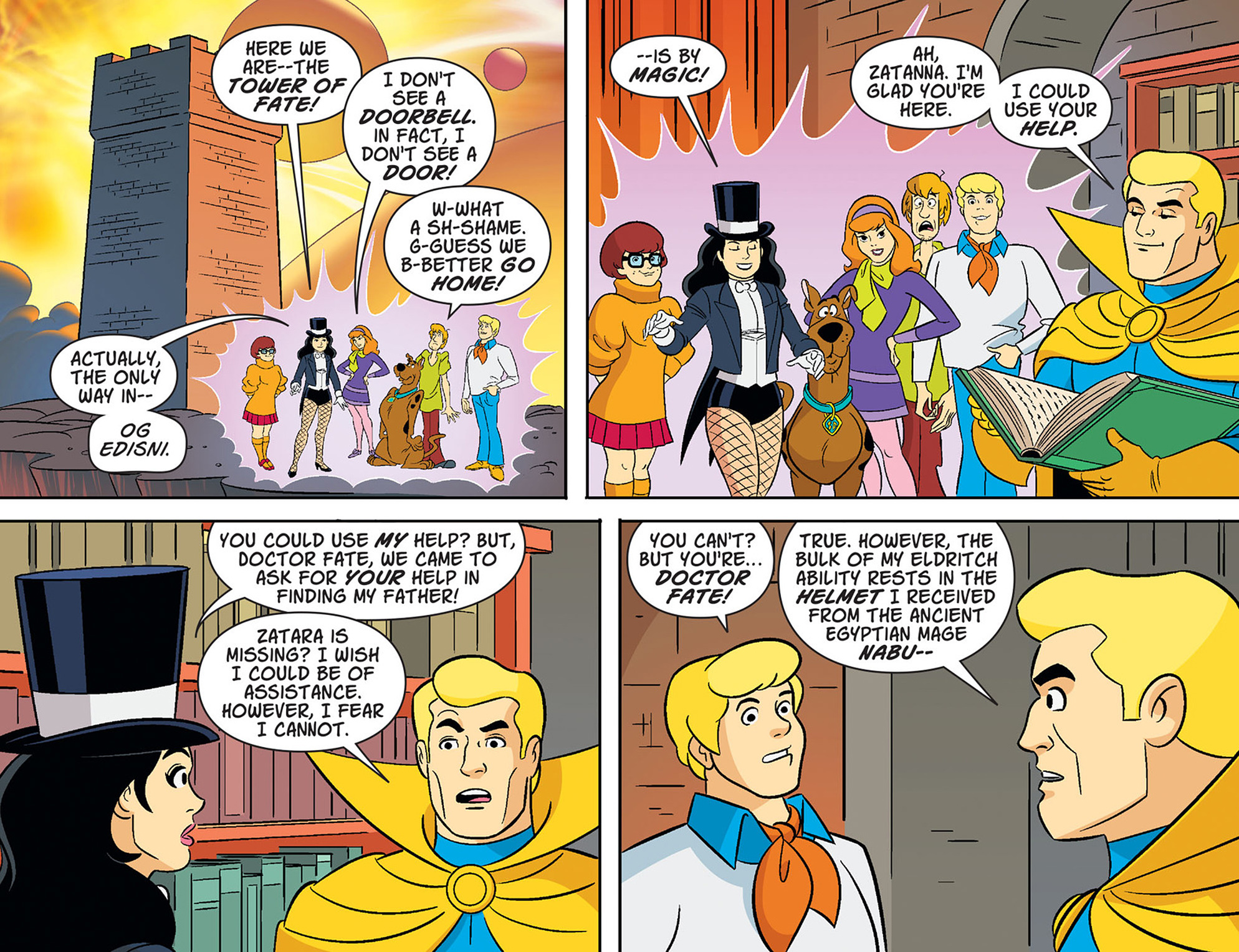 Read online Scooby-Doo! Team-Up comic -  Issue #37 - 10