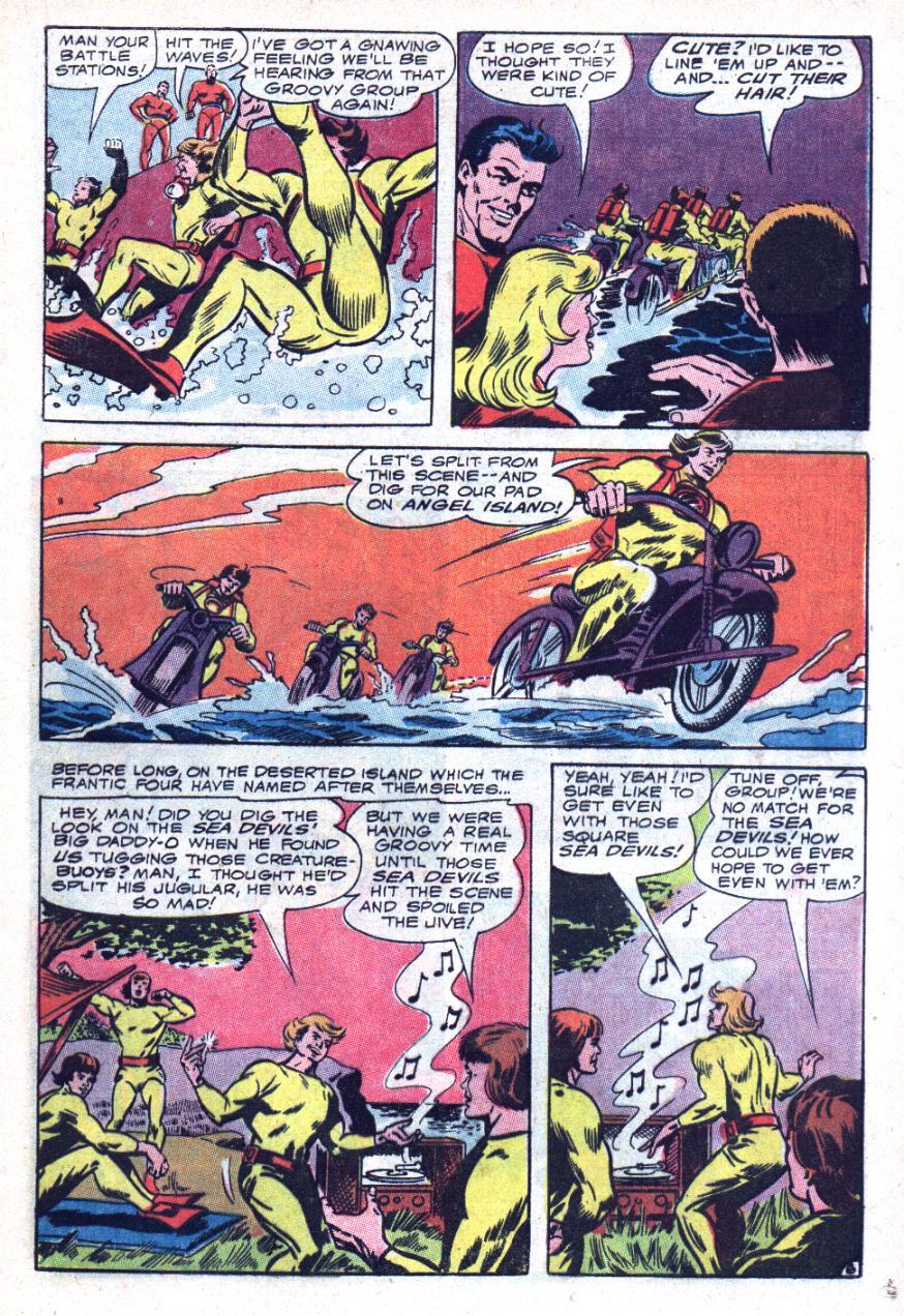 Read online Sea Devils comic -  Issue #34 - 10