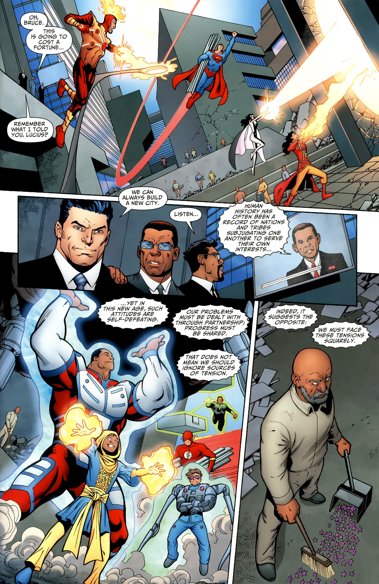 Read online Justice League of America/The 99 comic -  Issue #6 - 20
