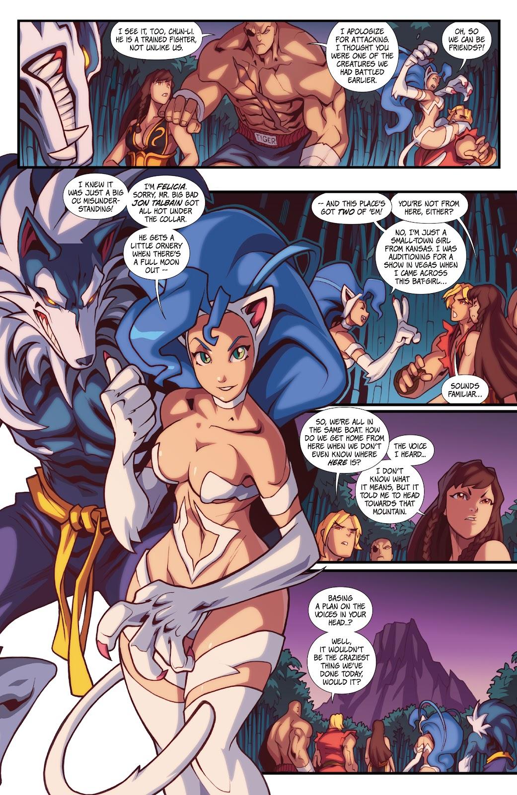 Street Fighter VS Darkstalkers Issue #1 #2 - English 18