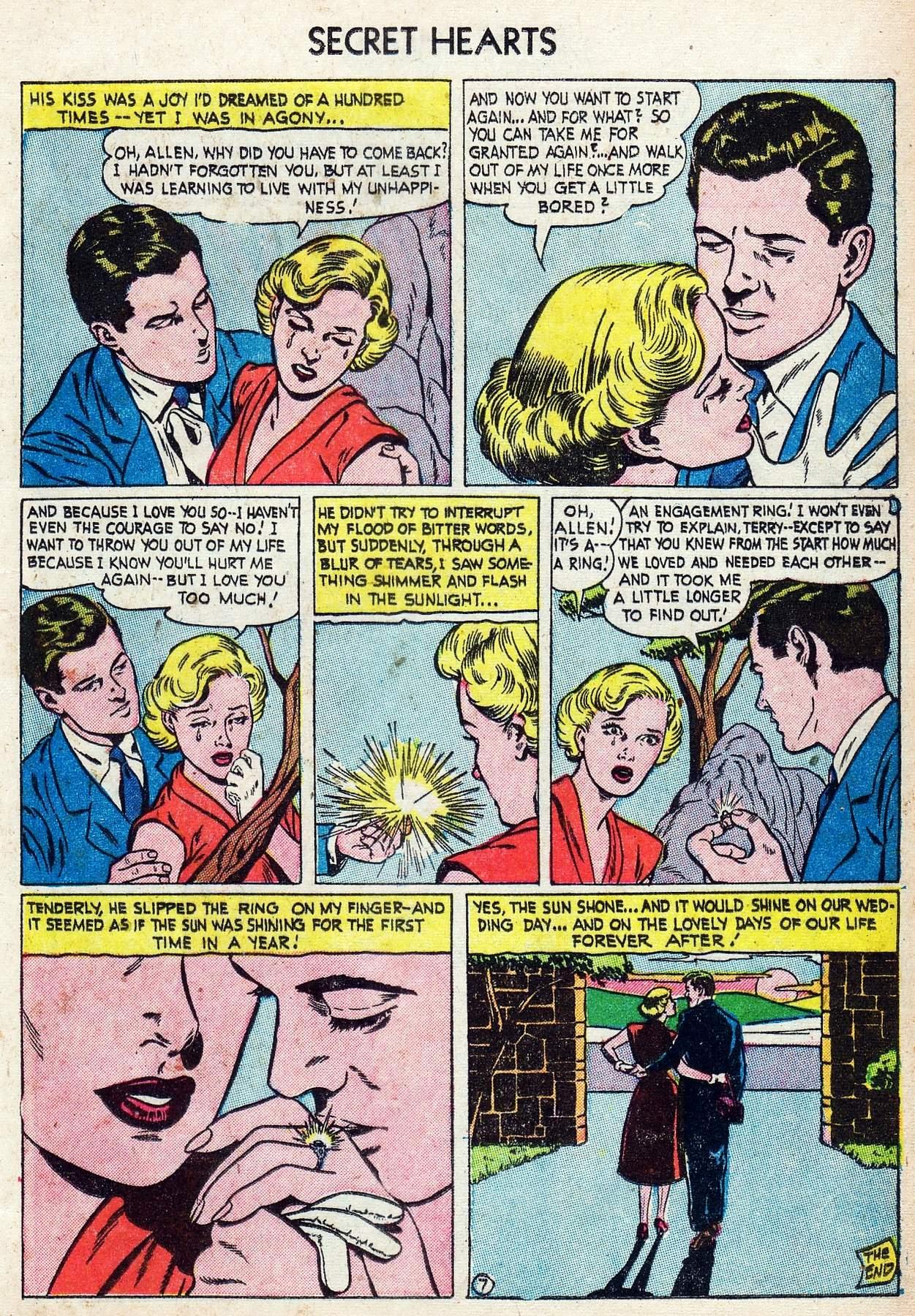 Read online Secret Hearts comic -  Issue #25 - 25
